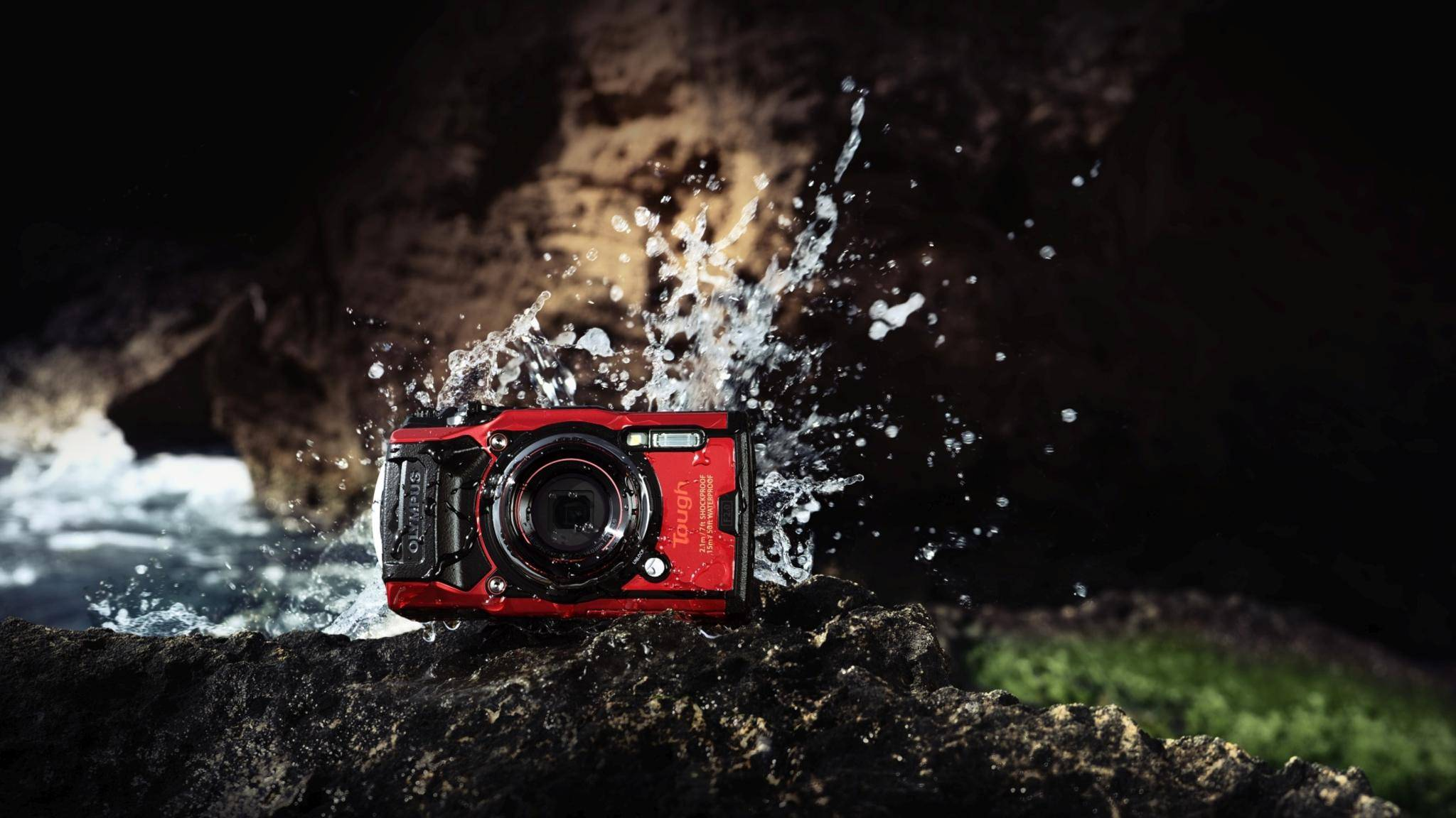 Die Olympus Tough TG-6 knipst auch Fotos unter schwierigen Bedingungen.