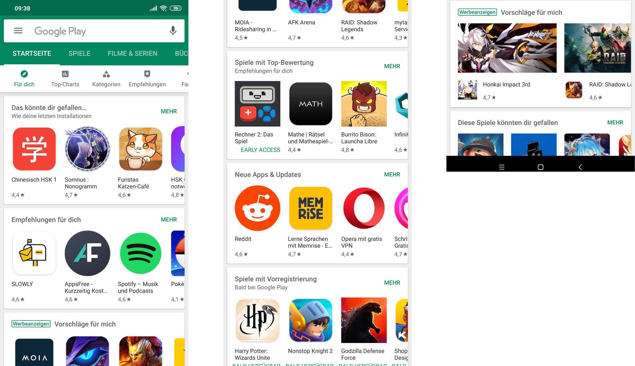 Android R wird endlich scrollbare Screenshots unterstützen (Bild: scrollbarer Screenshot auf dem Xiaomi Mi 8).