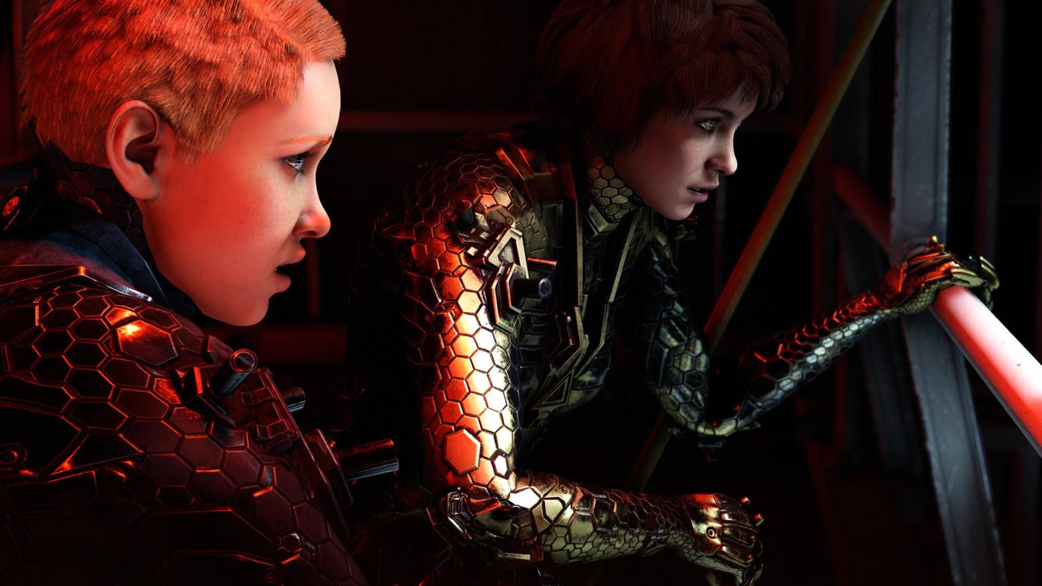"""Zwei Schwestern gegen den Rest der Welt: In """"Wolfenstein: Youngblood"""" spielen wir B.J.s taffe Töchter."""