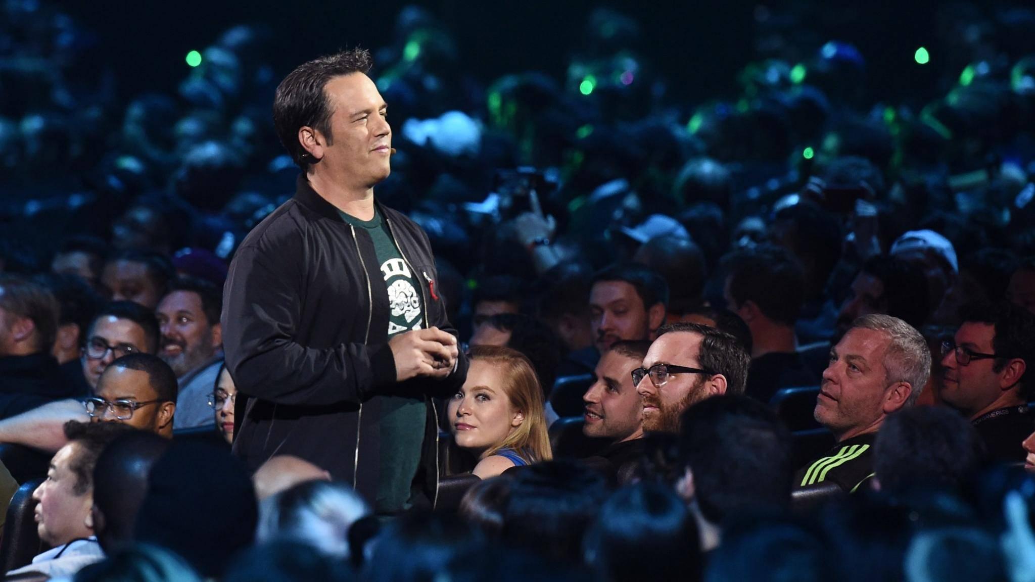 Xbox-Boss Phil Spencer auf der E3 2019.