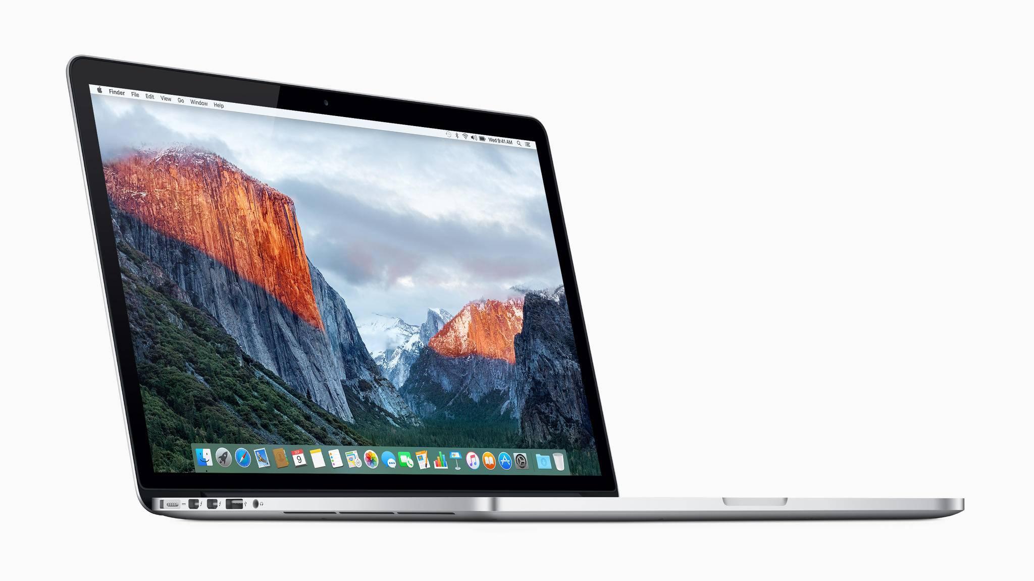 Bei einigen Modellen des MacBook Pro können Akkus überhitzen.