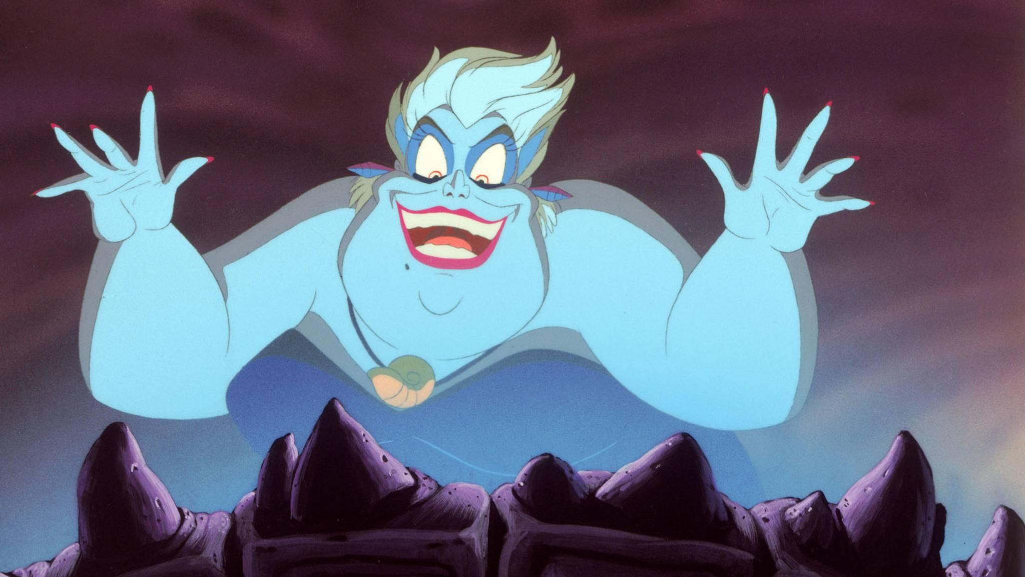 Ursula macht der kleinen Meerjungfrau Arielle das Leben schwer.