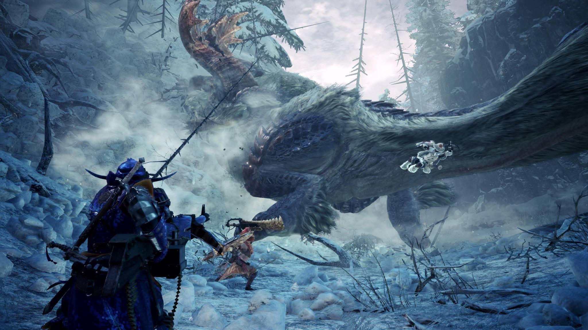 """Wem es draußen nicht kalt genug ist, der schmeißt """"Monster Hunter World: Iceborne"""" an!"""