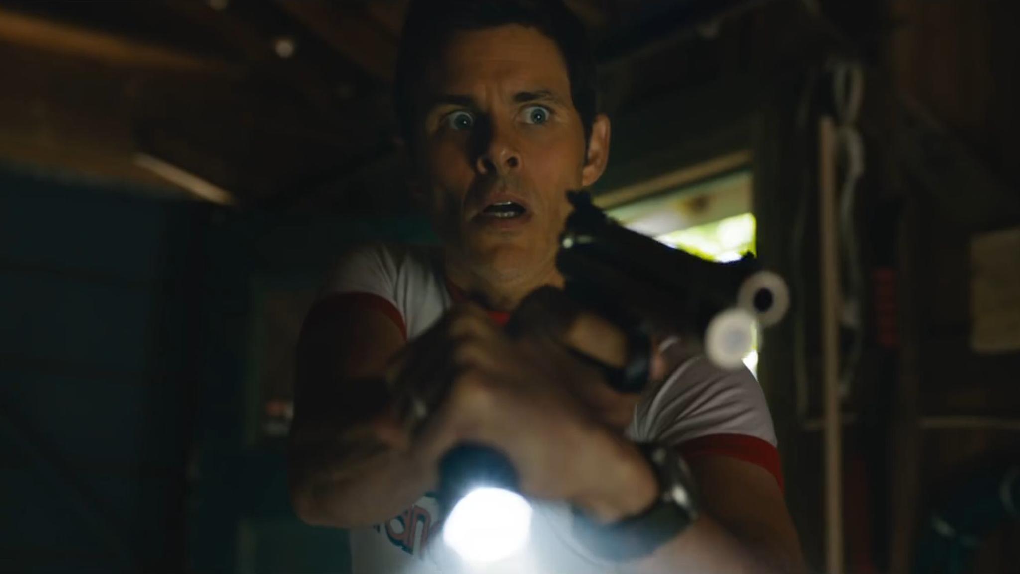 """Den entsetzten Gesichtsausdruck aus dem """"Sonic""""-Film kann James Marsden für """"The Stand"""" gleich beibehalten."""