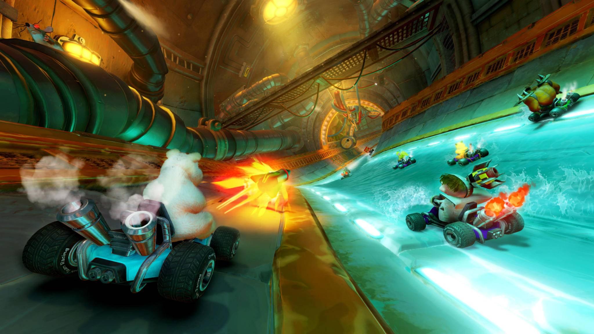 """Du schaffst es in """"Crash Team Racing"""" einfach nicht auf's Podium? Dann könnten Dir die versteckten Abkürzungen helfen."""