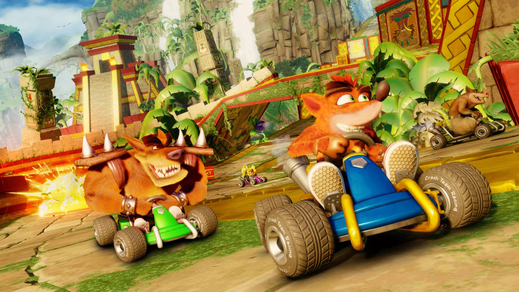 """Das Driften in """"Crash Team Racing Nitro-Fueled"""" ist eine Wissenschaft für sich."""
