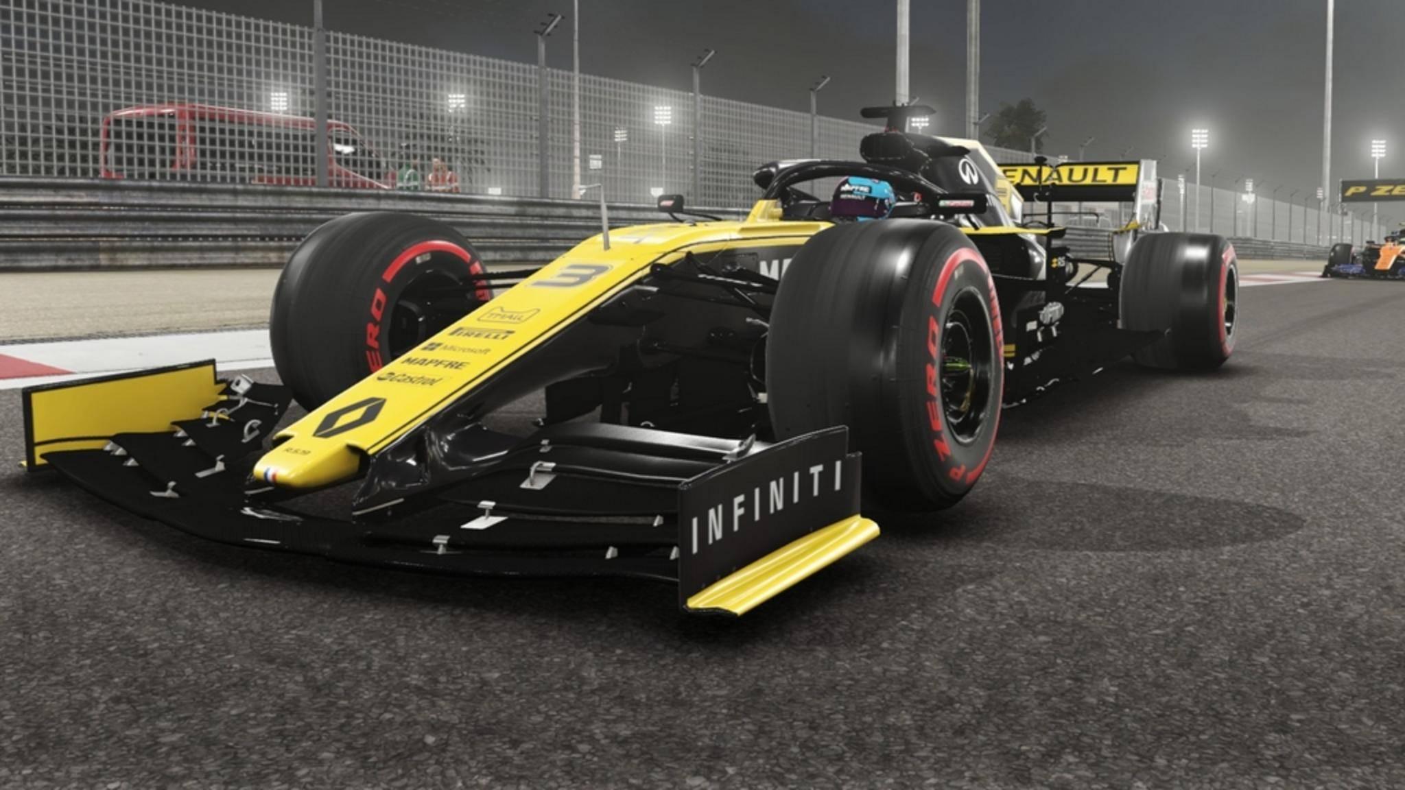 """""""F1 2019"""" kopiert in weiten Teilen den Vorgänger."""