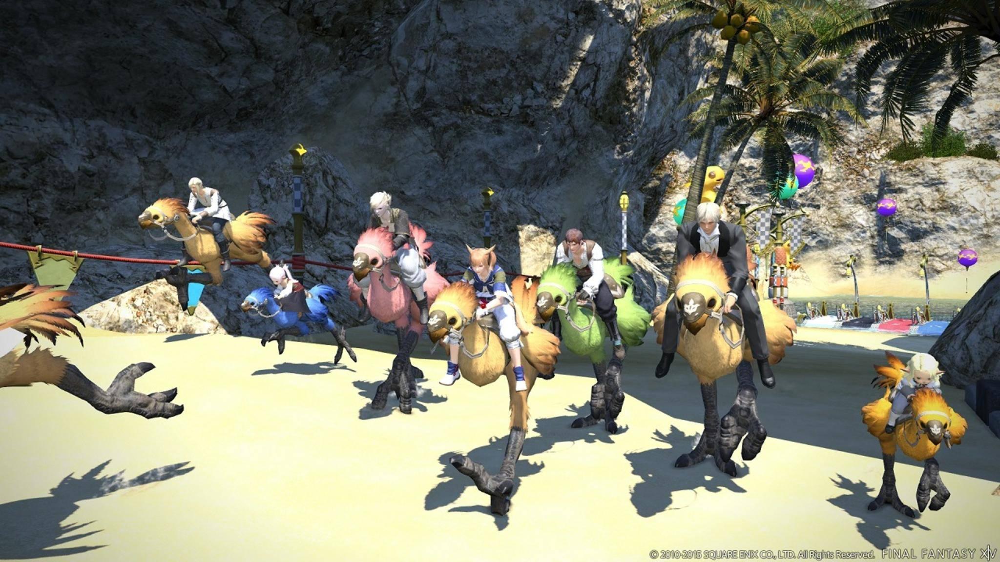 """Zentrale Figuren der """"Final Fantasy""""-Reihe wie die Chocobos sollen auch in der Serie auftauchen."""