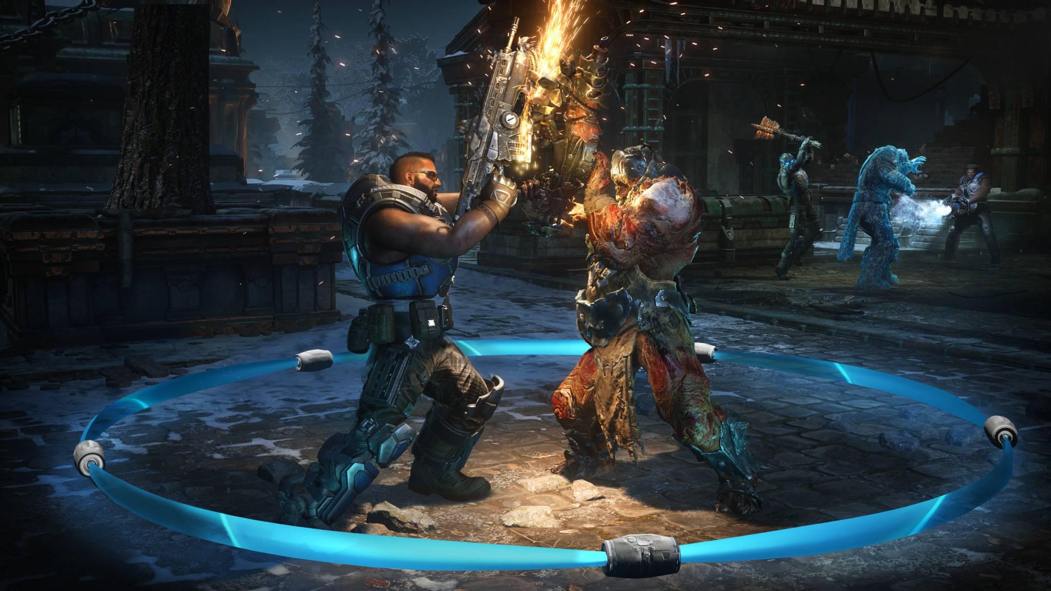 """In """"Gears 5"""" warten auf Spieler eine ganze Menge Inhalte – kostenlos erspielbar und gegen Echtgeld."""
