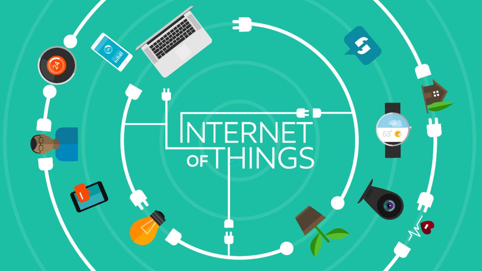Zahlreiche IT-Größen wie Google arbeiten am Internet der Dinge