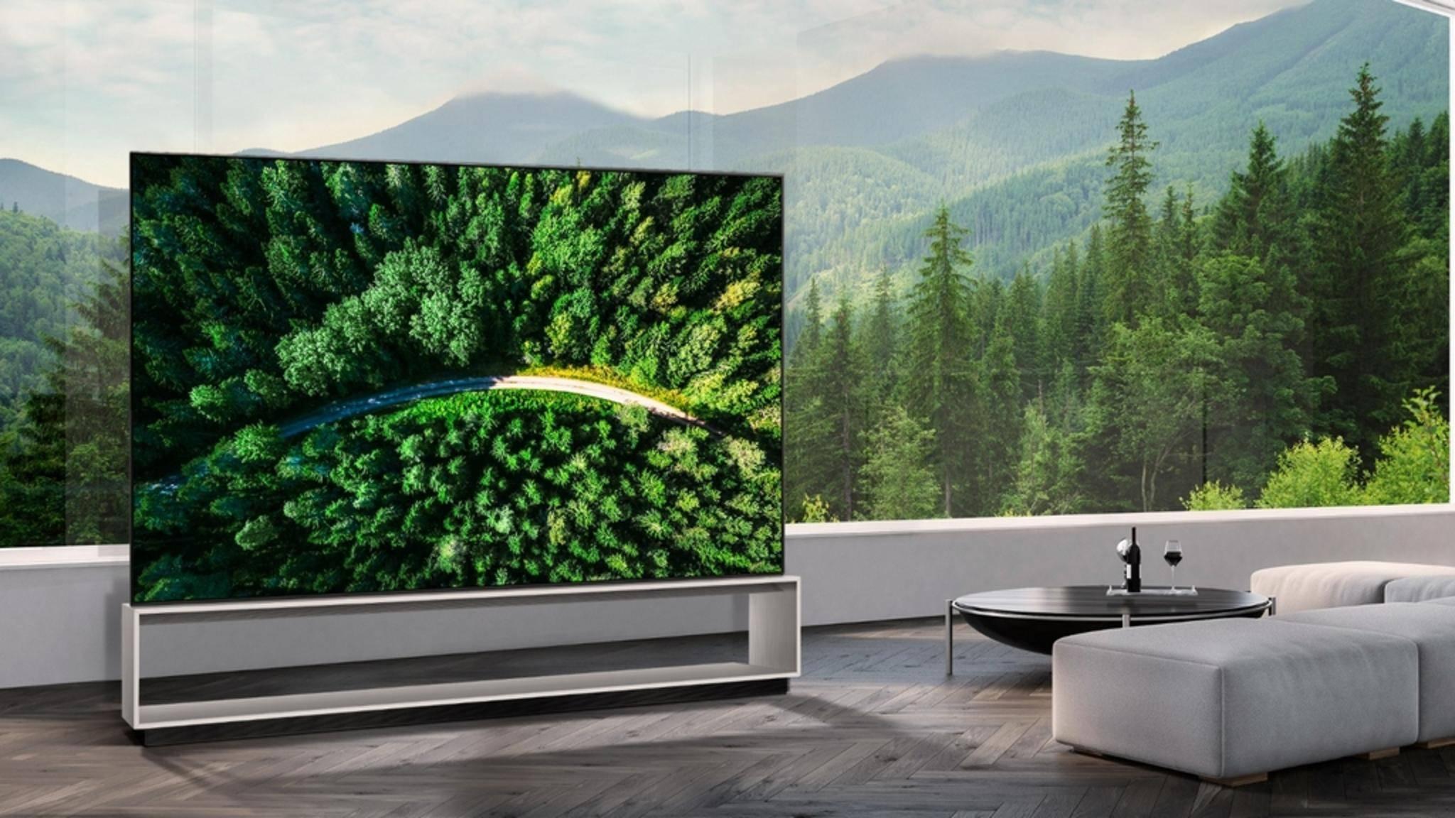 Der LG 88Z9 ist ein Fernseher der Superlative.