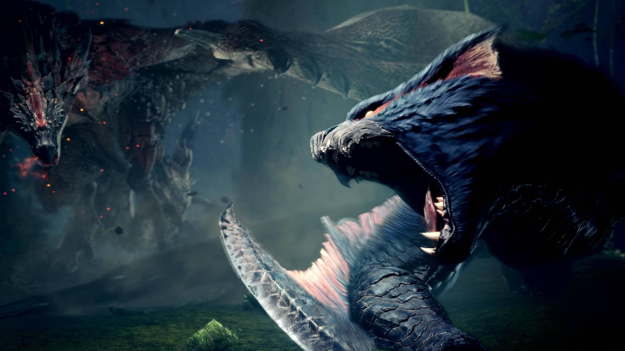 """Schrei hier nicht so rum! Wir können auch nichts für den neuen Kinostart von """"Monster Hunter""""."""