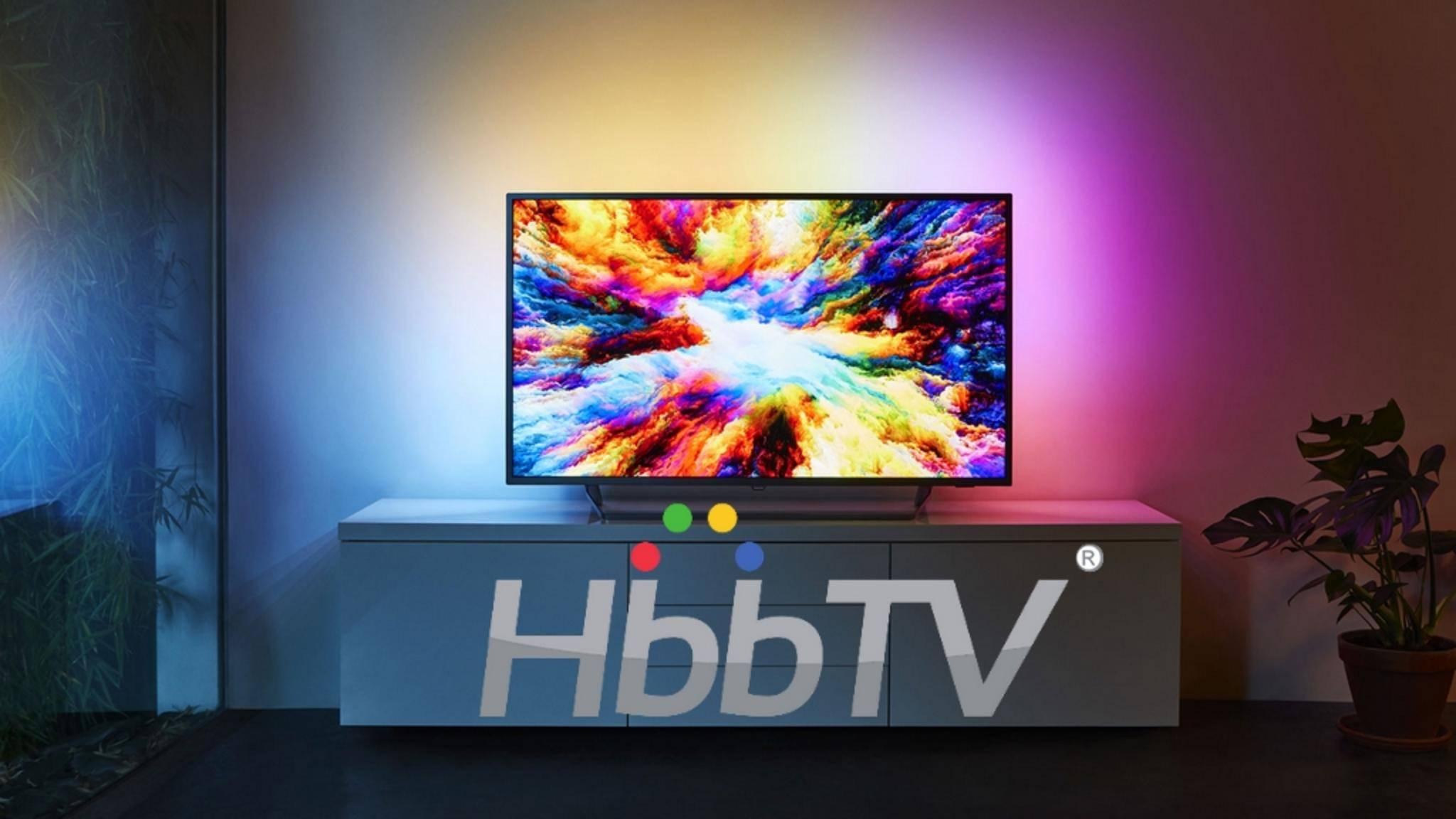 Fast jeder moderne Smart TV unterstützt auch HbbTV.