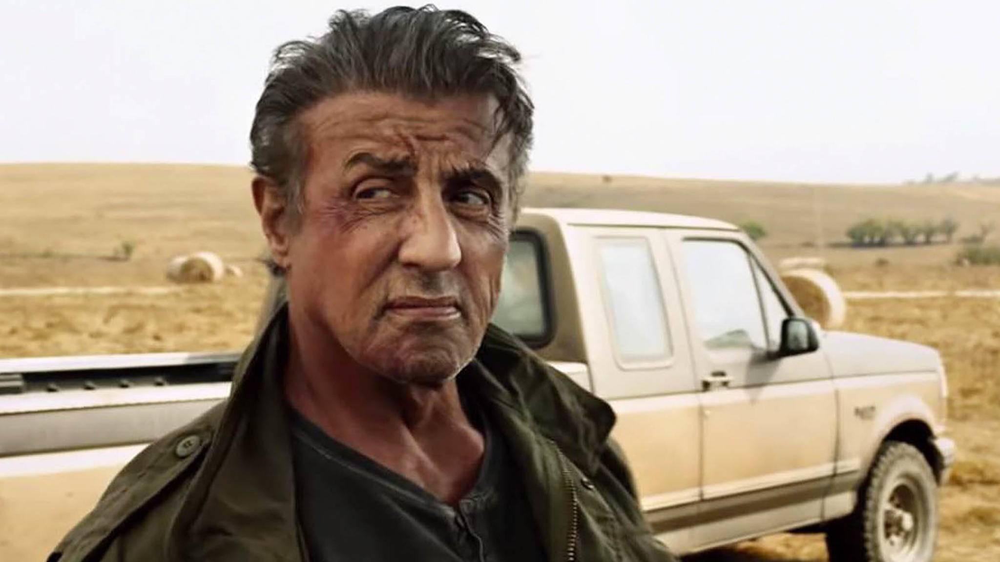 """Sly gewährt uns einen neuen Blick hinter die Kulissen von """"Rambo 5: Last Blood""""."""