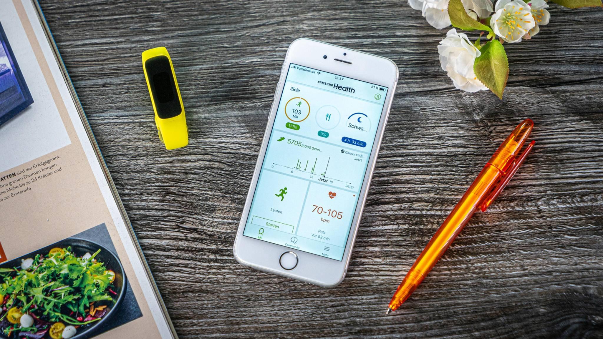 Der Fitness-Tracker Samsung Galaxy Fit e im Test: Was leistet das günstige Wearable?
