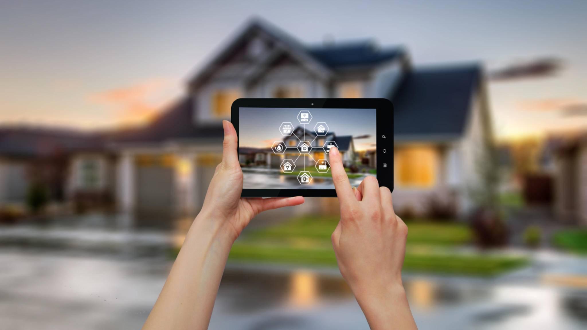 Die Haustechnik im Griff: Startersets machen den Einstieg ins Smart Home ganz leicht.