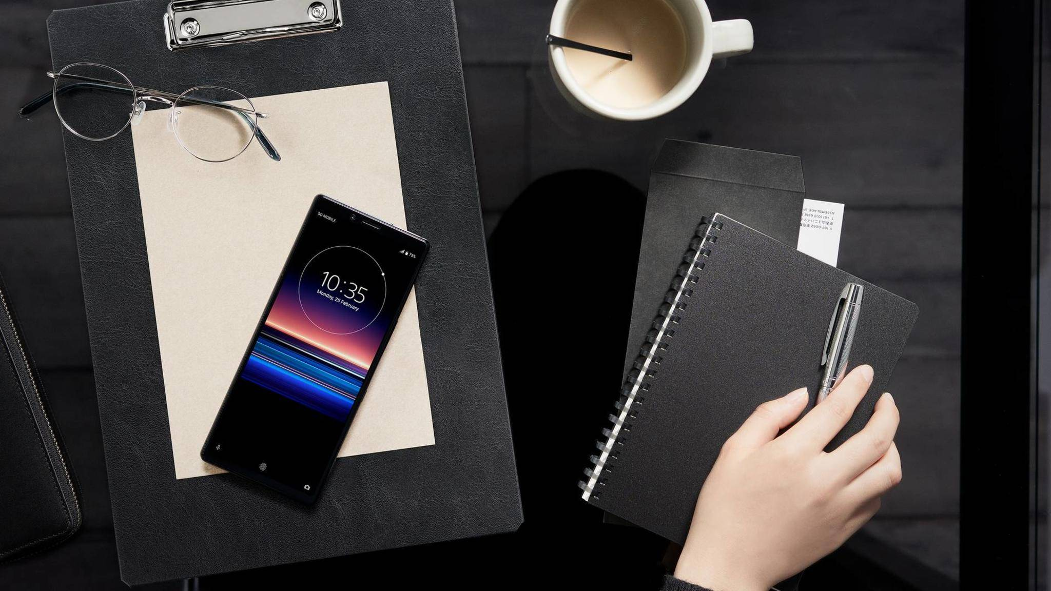 Das Sony Xperia 1 wird bald auch hierzulande erhältlich sein.