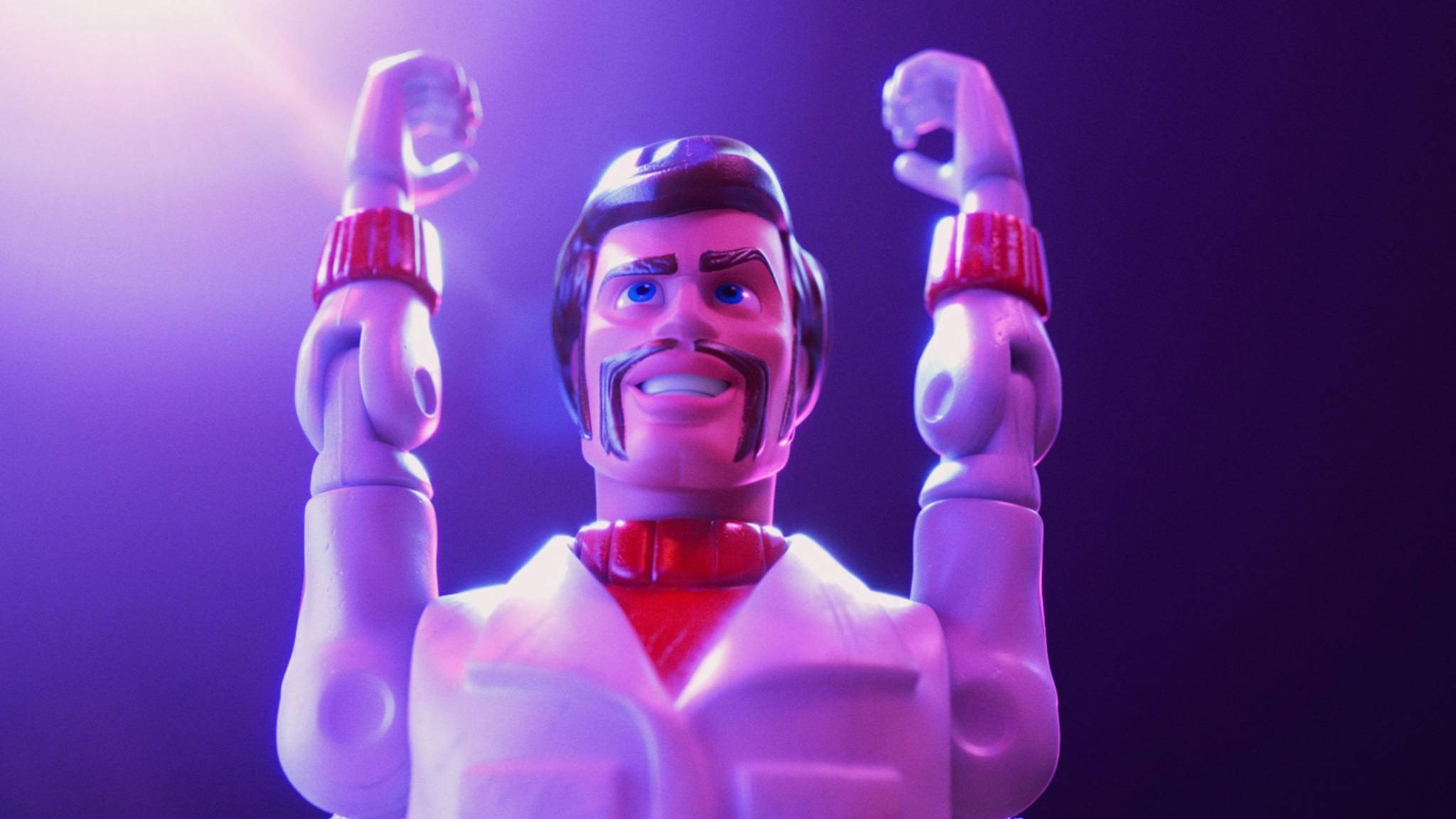 """Hoch die Hände! Disney hat dank des Erfolgs von """"Toy Story 4"""" allen Grund zum Feiern."""