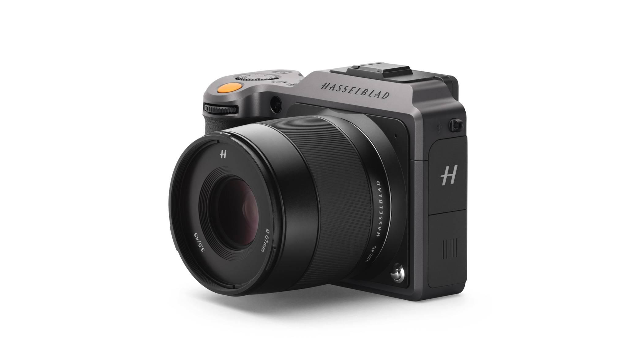 Die Hasselblad X1D II 50C ist eine kompakte Mittelformat-Kamera.