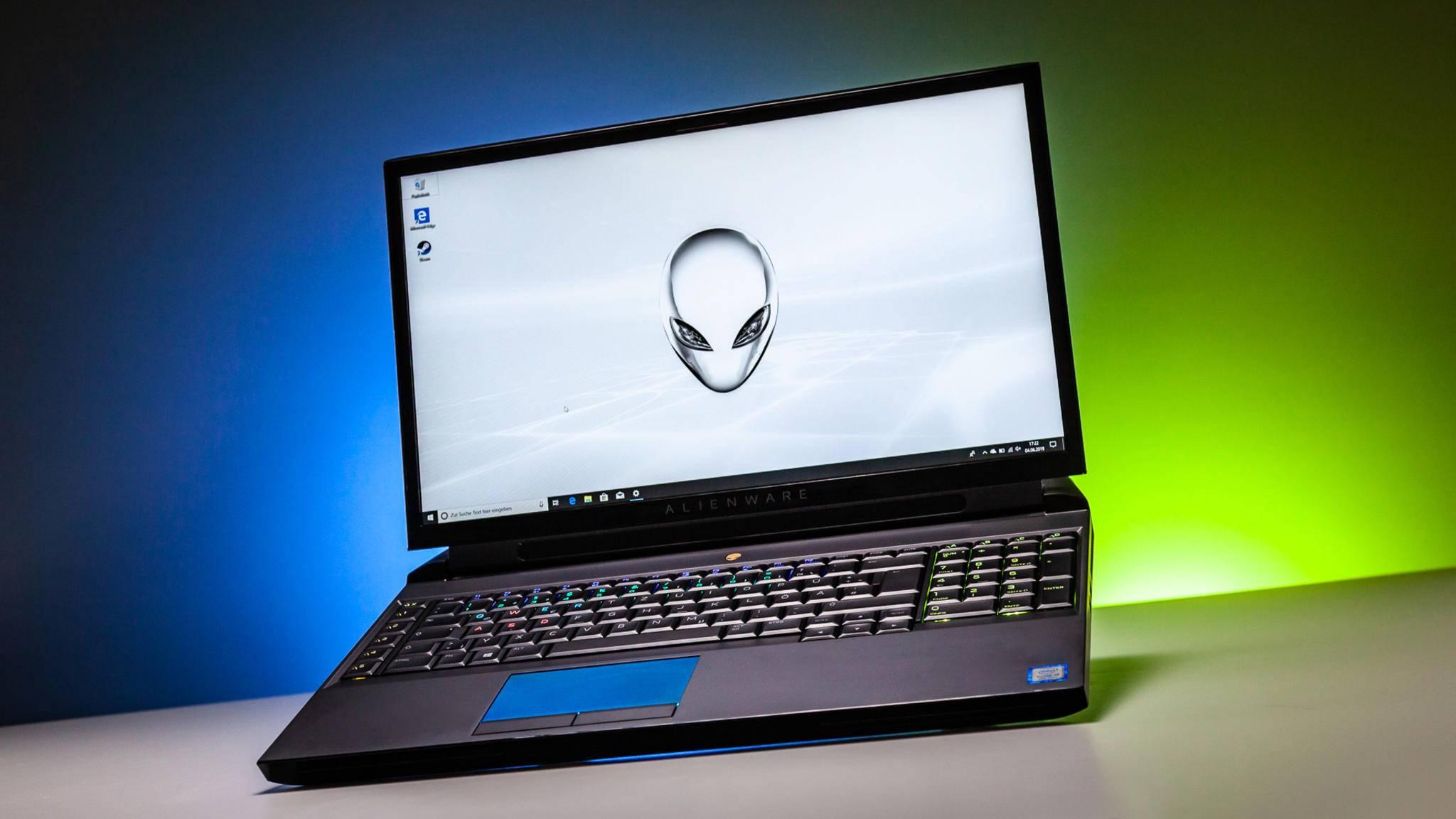 Der Alienware Area-51m ist ein Gaming-Laptop mit der Power eines Gaming-PCs.