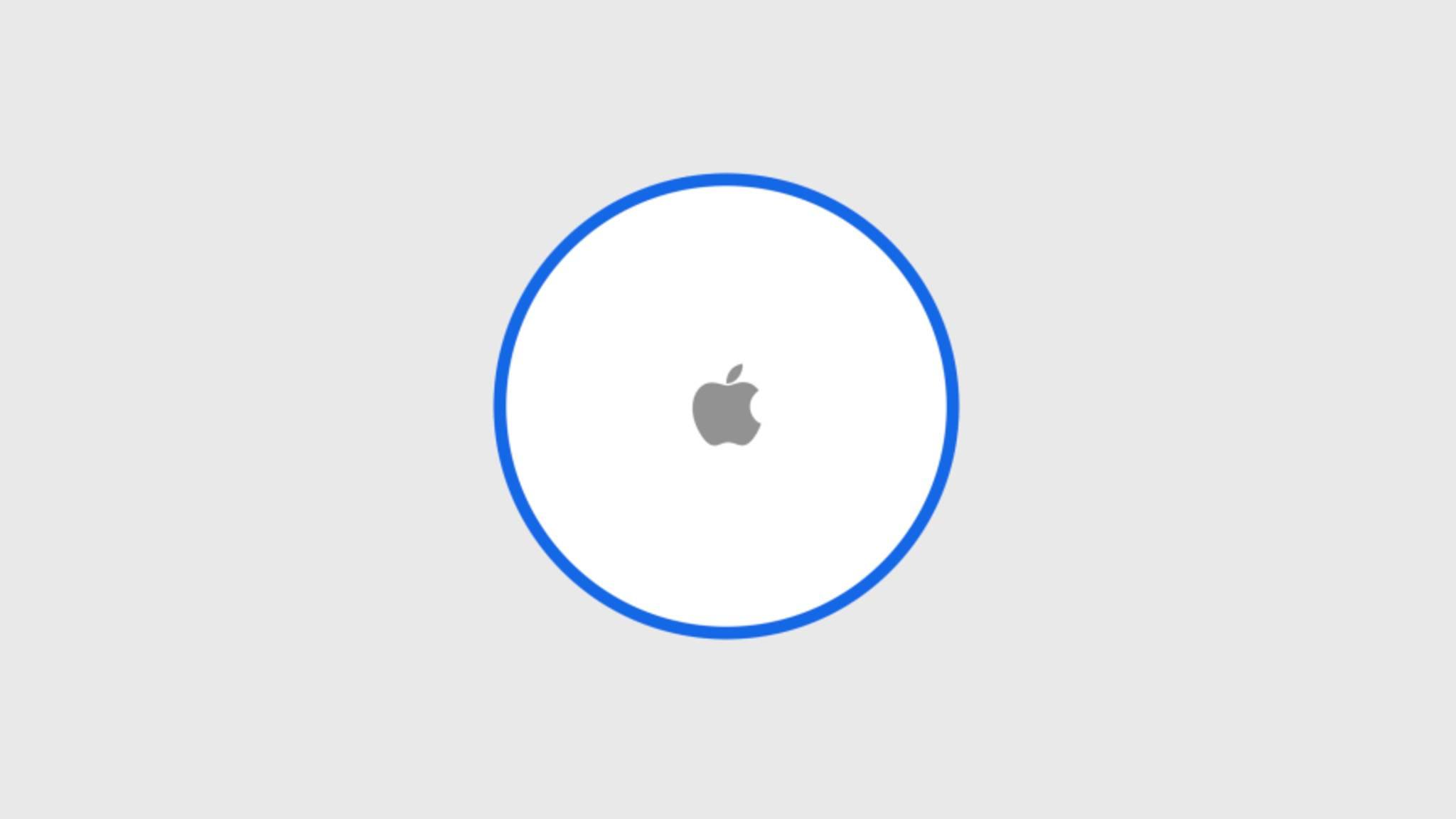 Ungefähr so könnte Apples Tracking-Gerät aussehen.