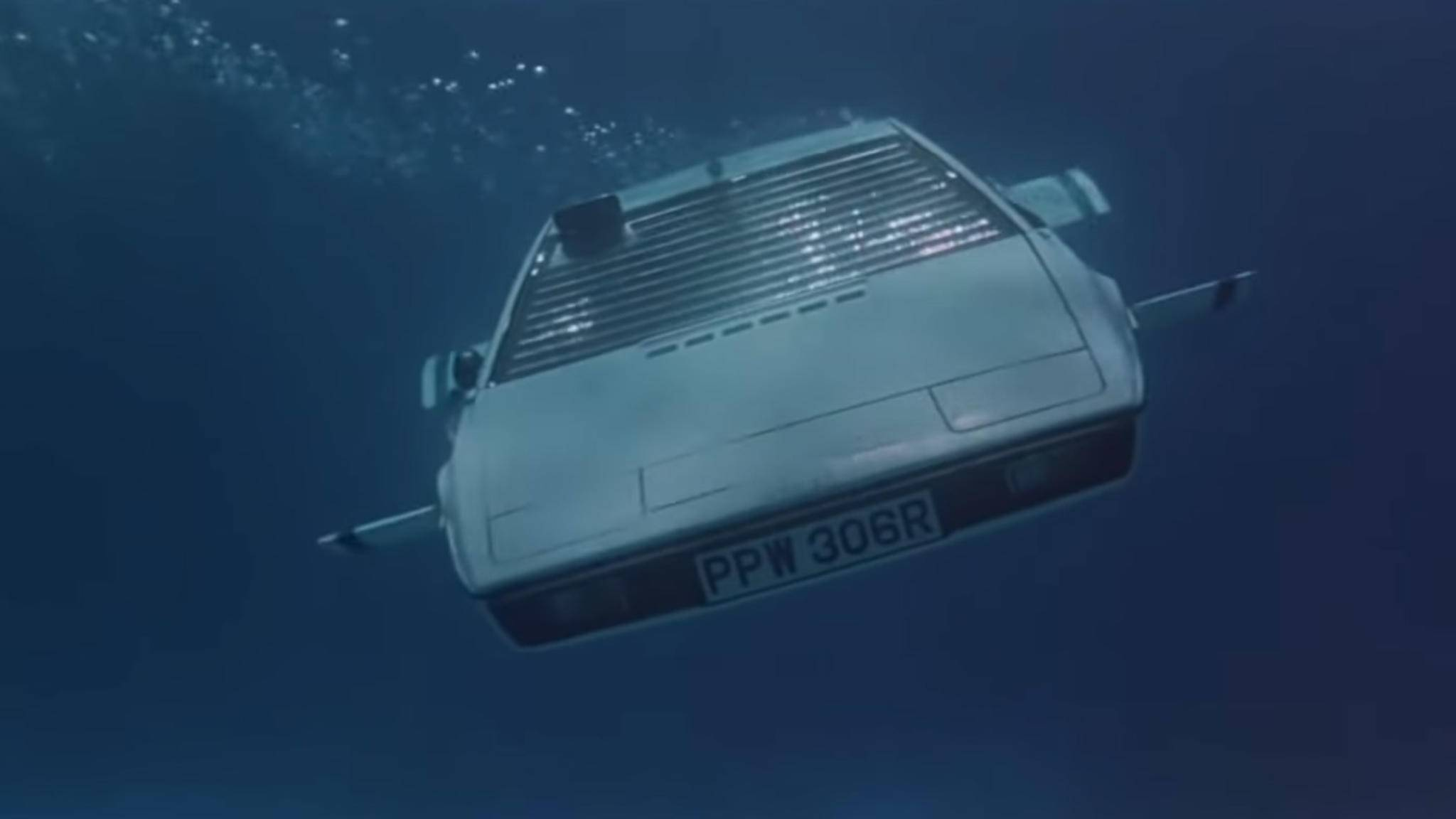 """Der Lotus Esprit aus dem Bond-Film """"Der Spion, der mich liebte"""" könnte bald Realität werden."""
