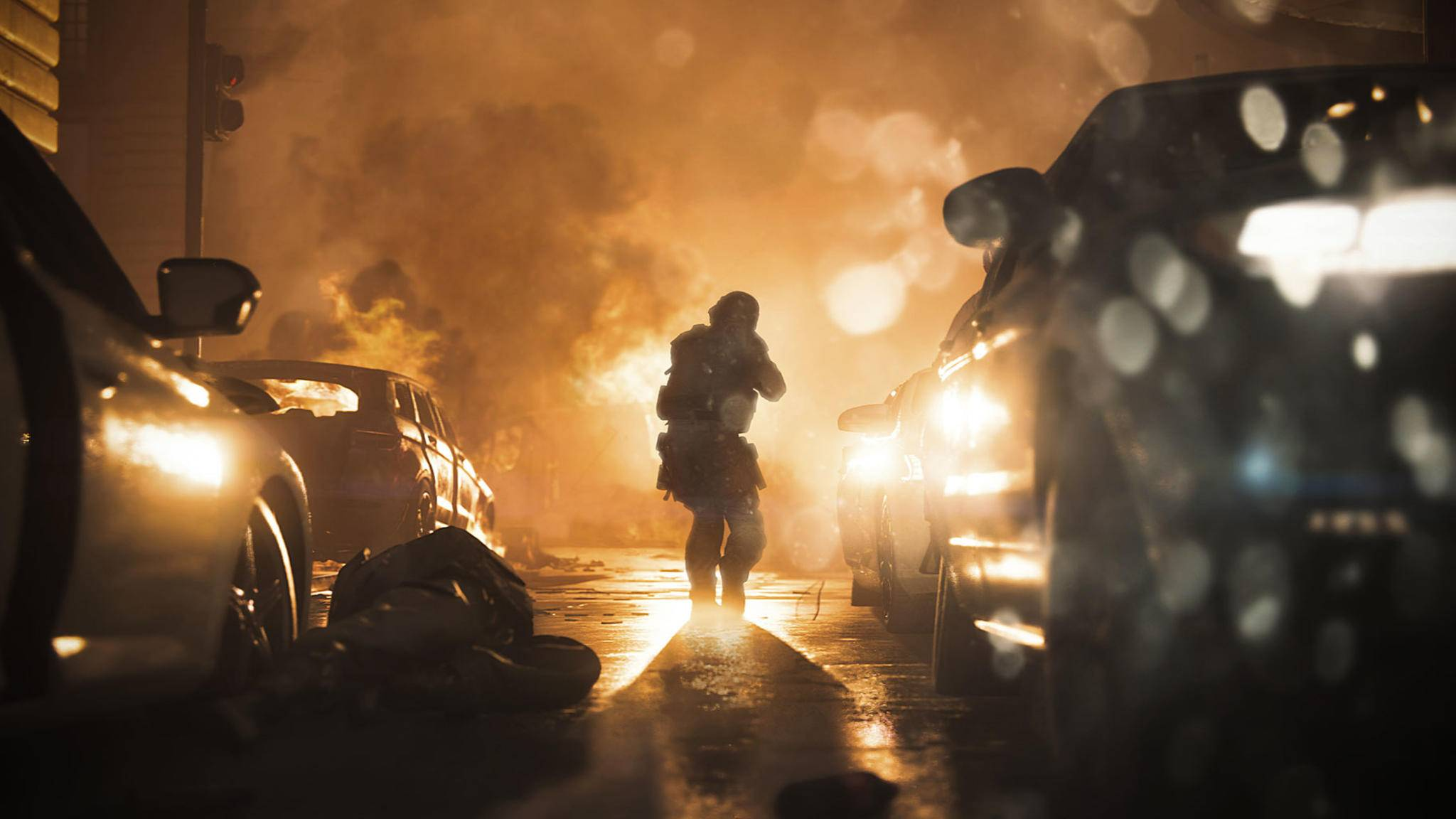 "Kannst Du lange suchen: keine Zombies in ""Call of Duty: Modern Warfare""."
