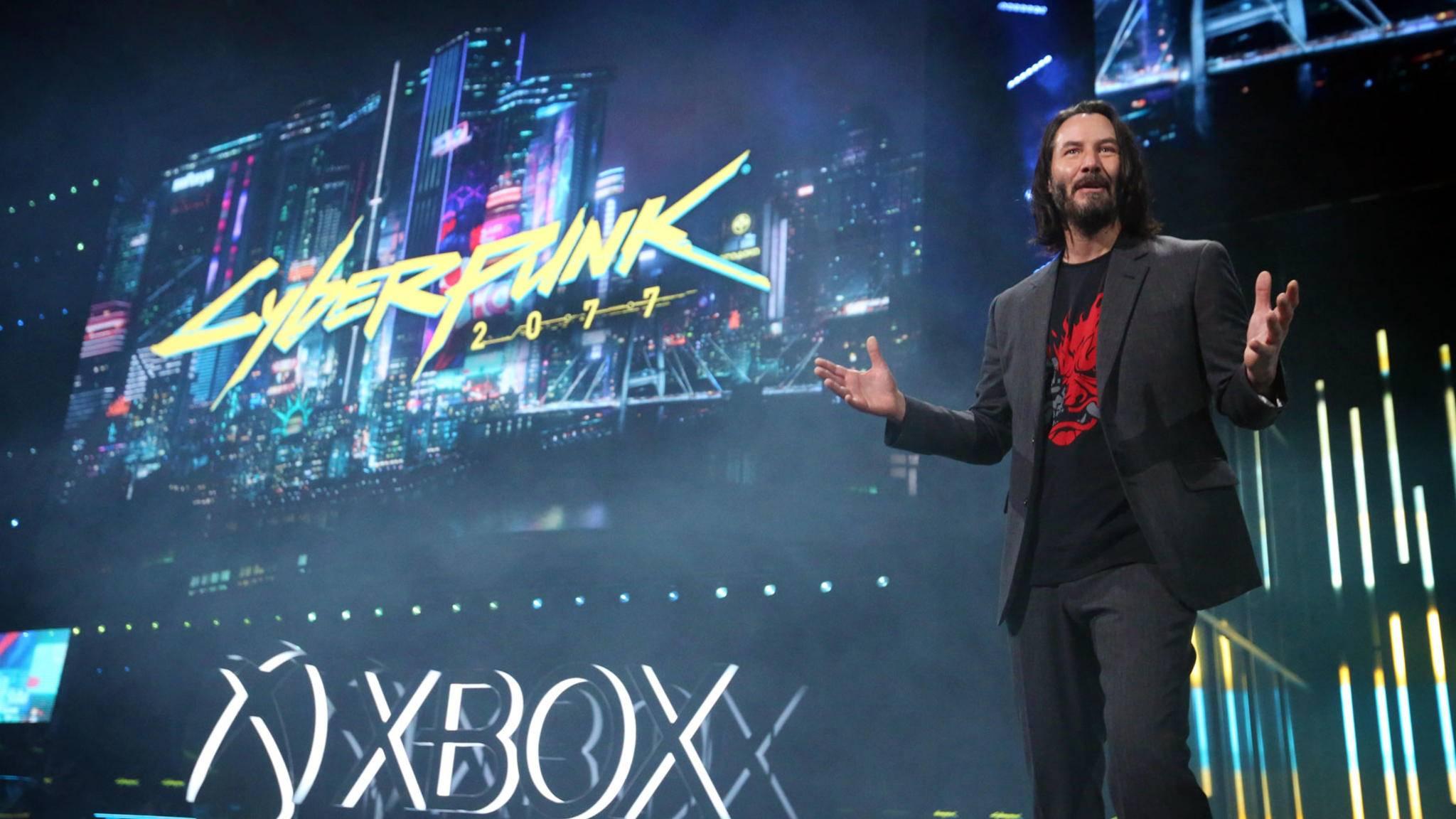 """Keanu Reeves in """"Cyberpunk 2077"""": Mehr als ein Cameo-Auftritt."""