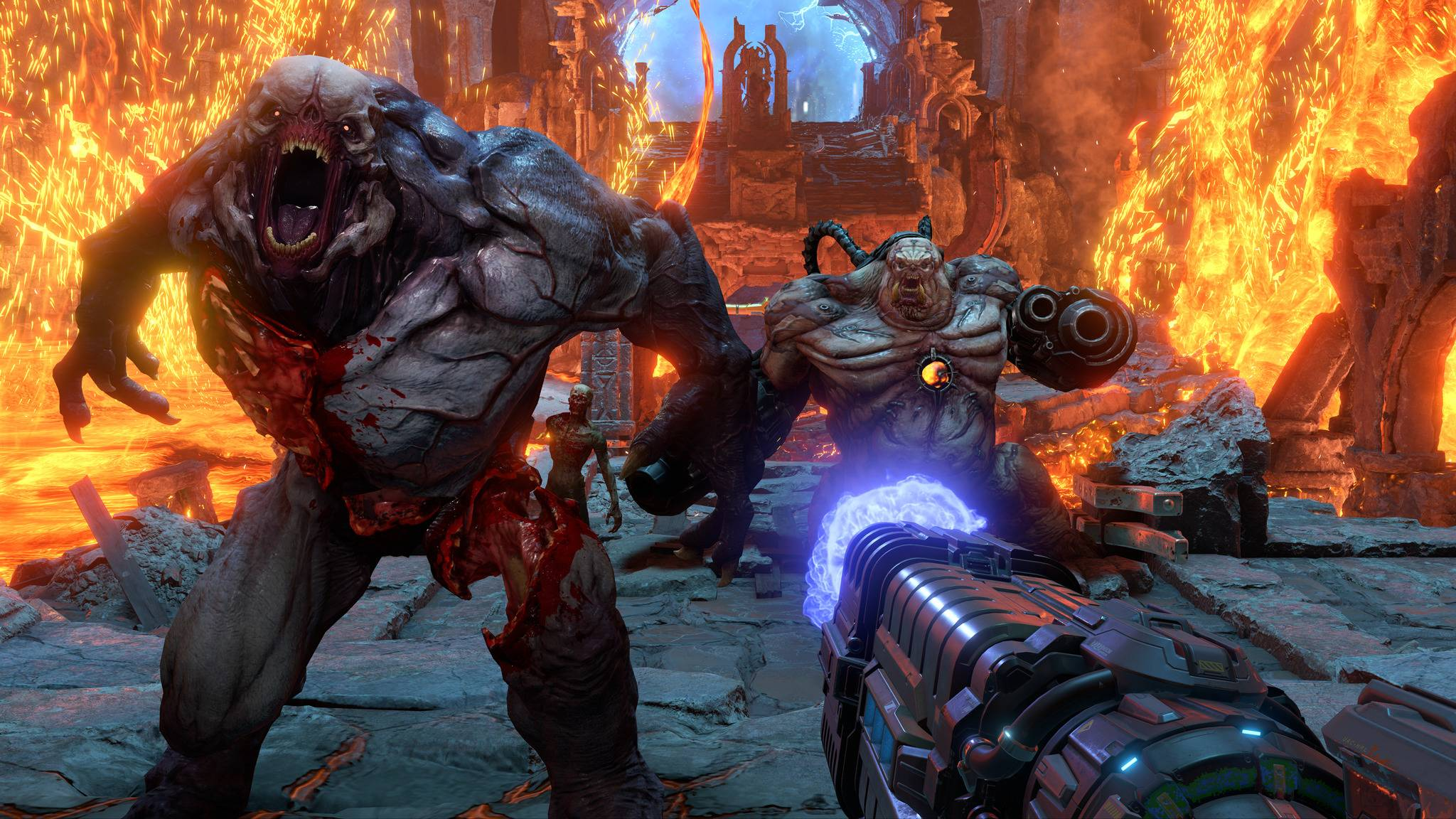 """Lust auf höllischen Shooter- und Slayer-Spaß? """"Doom Eternal"""" kommt per Xbox Game Pass auf den PC."""