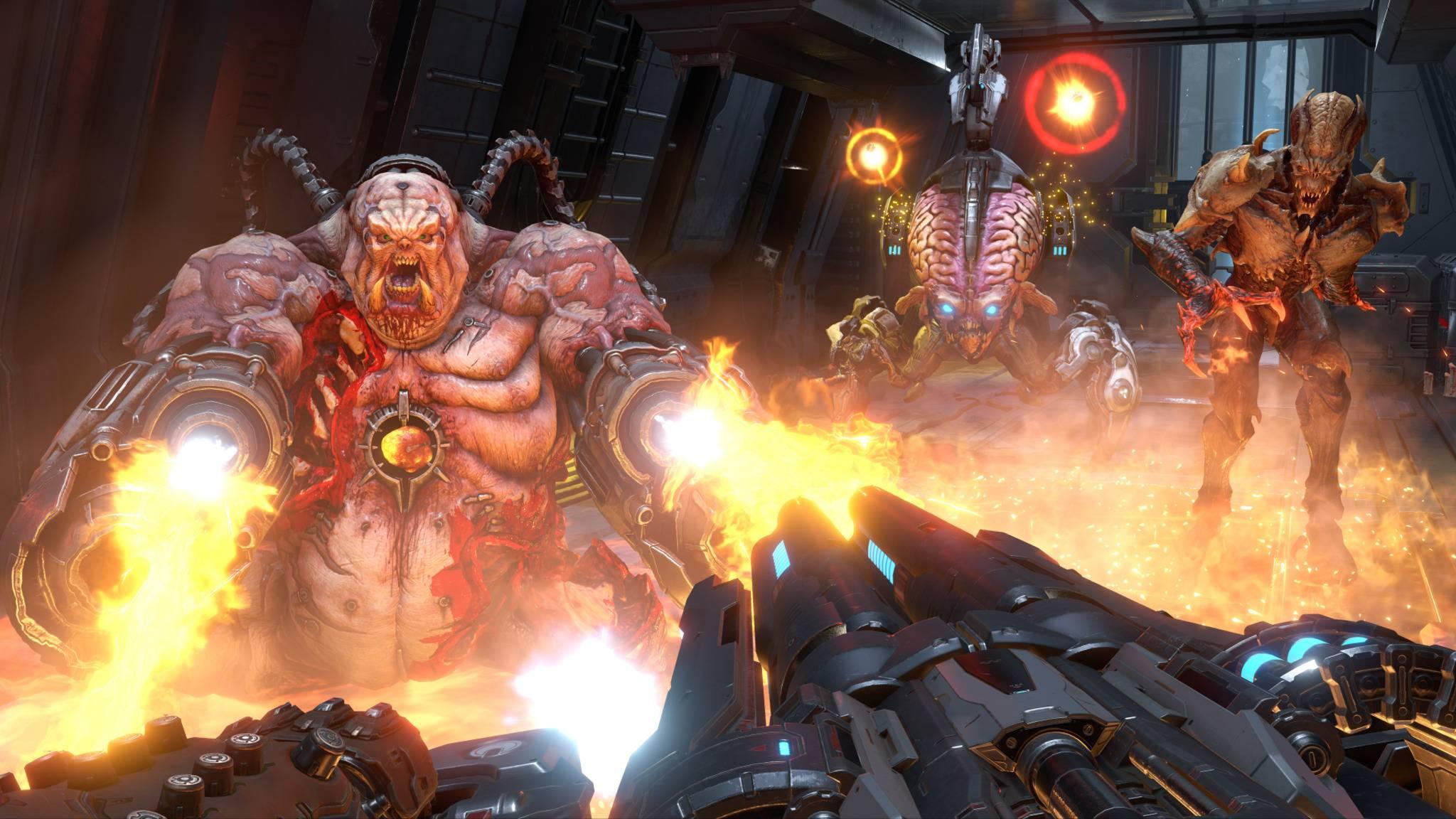 """""""Doom Eternal"""" feuert aus allen Rohren."""