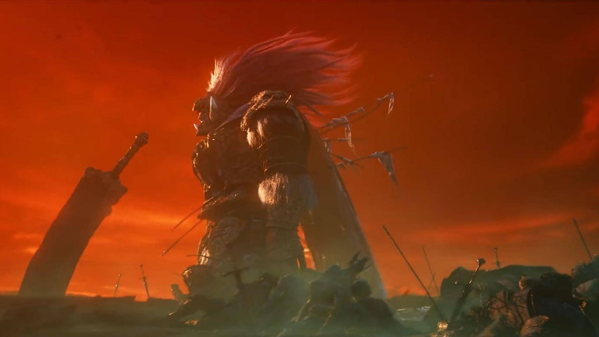 """Wer """"Dark Souls III"""" gespielt hat, kriegt bei diesem Bild von """"Elden Ring"""" sicher schlimme Flashbacks vom Namenlosen König."""