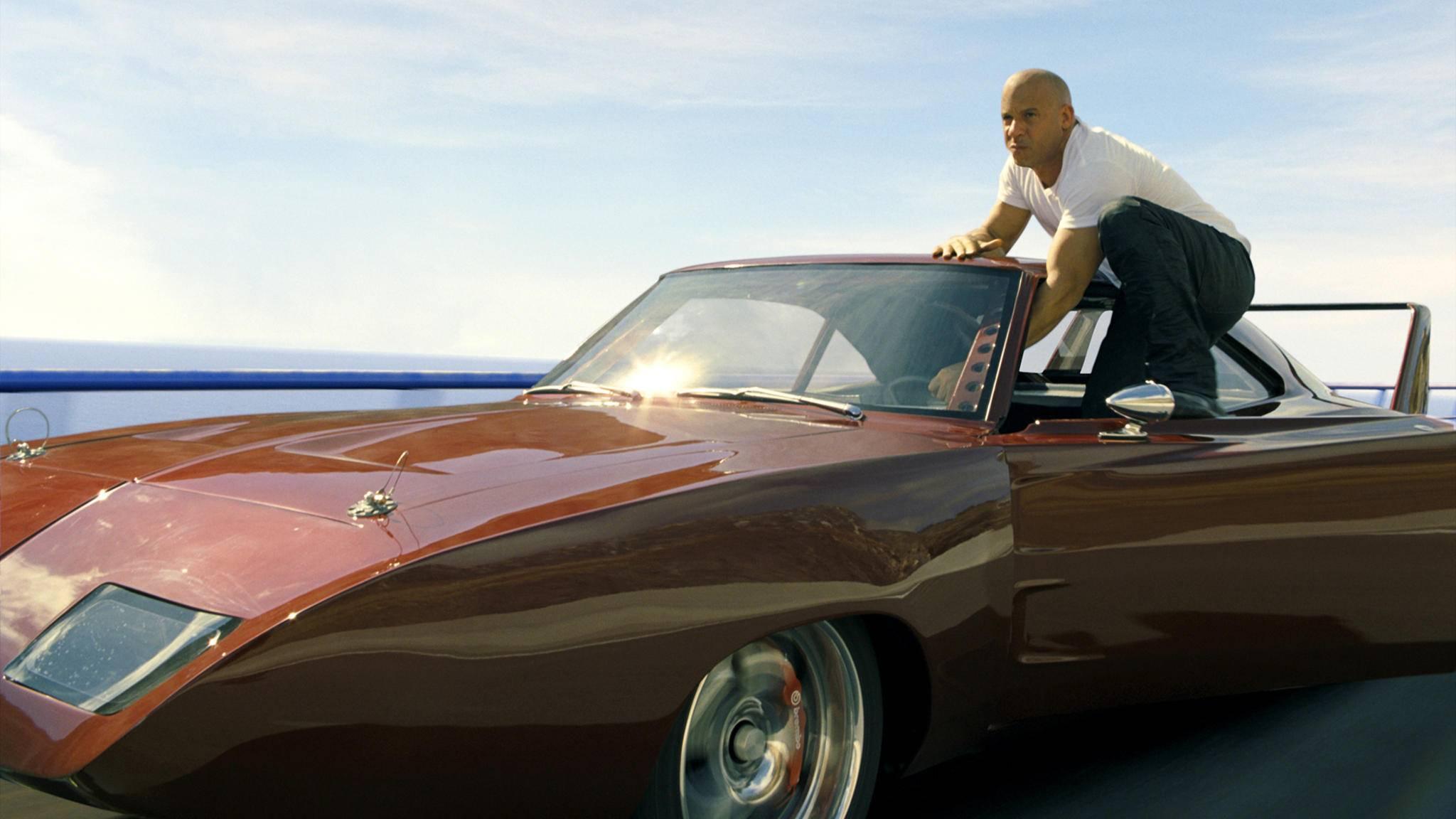 """Dom (Vin Diesel) lässt für """"Fast & Furious 9"""" den Motor aufheulen."""