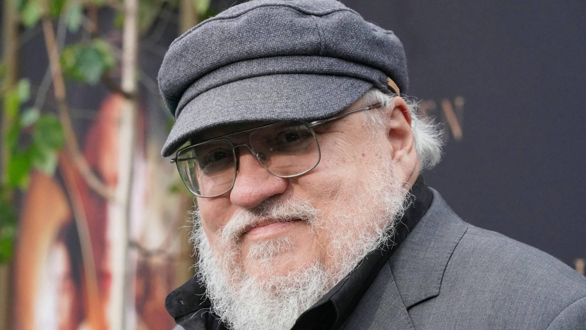 """Geht unter die Gamer: Autor George R. R. Martin, bekannt durch """"Game of Thrones""""."""