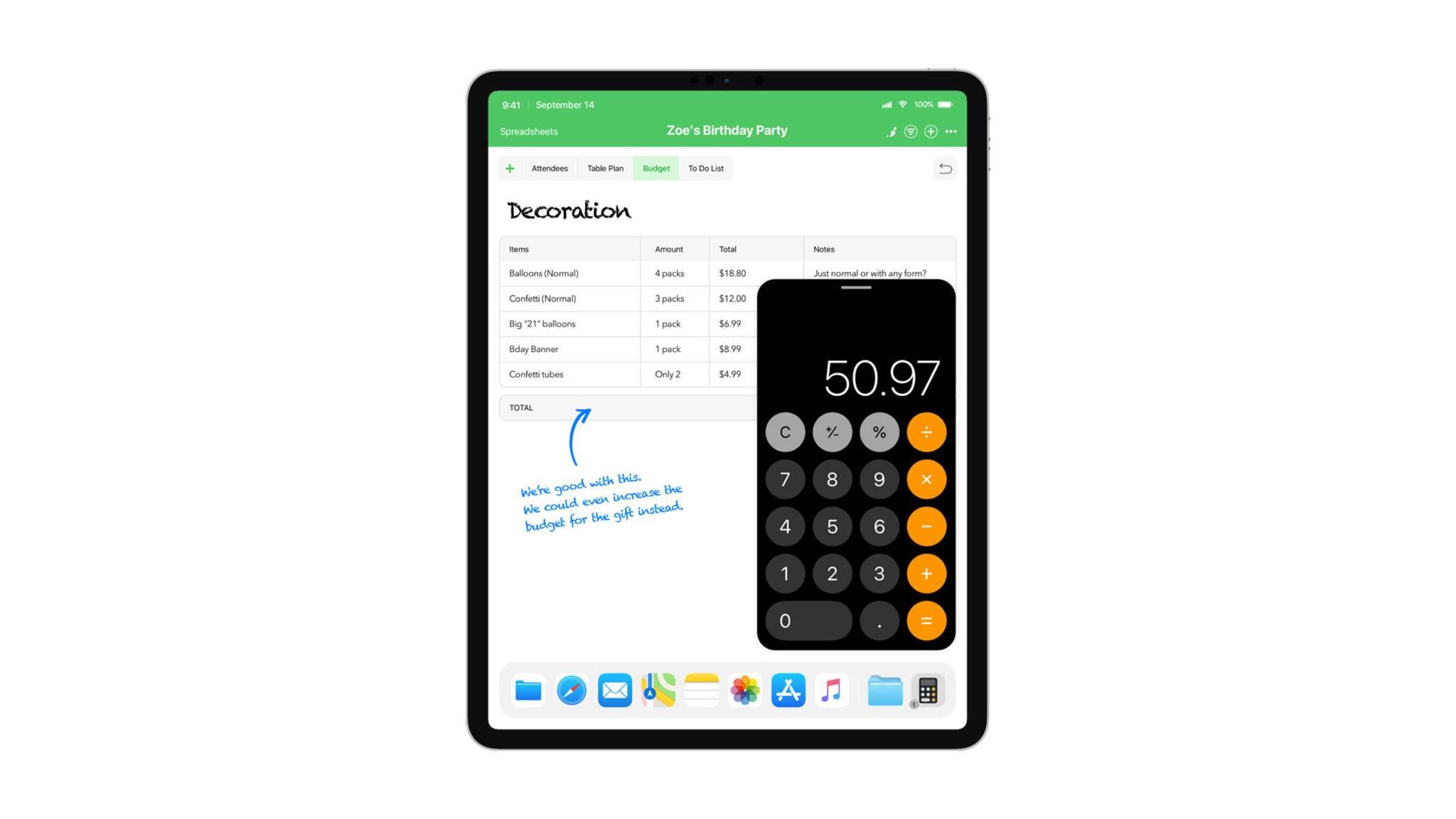 Bringt Apple die Taschenrechner-App auf das iPad?