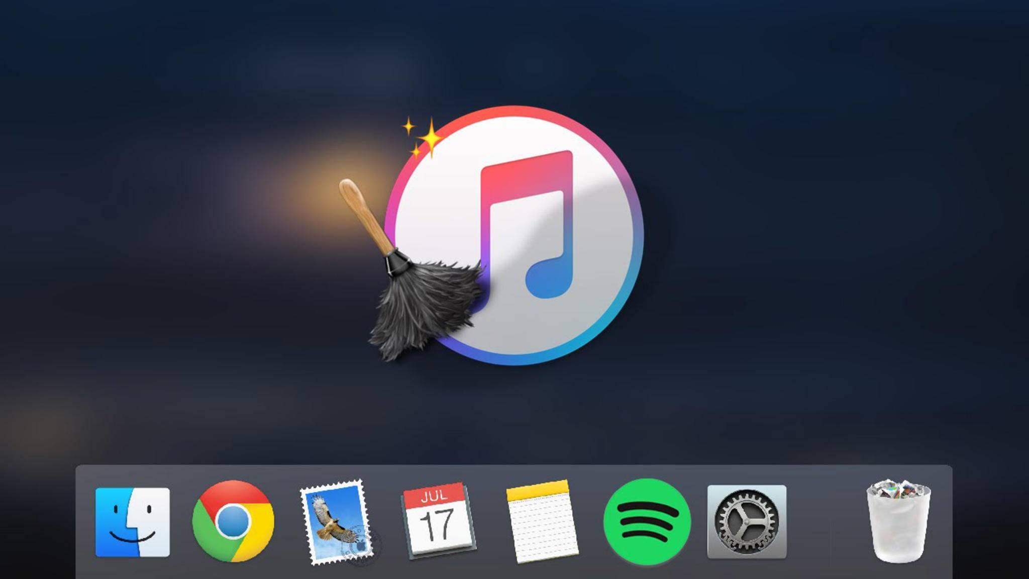 Künftig wird es iTunes auf dem Mac nicht mehr geben.