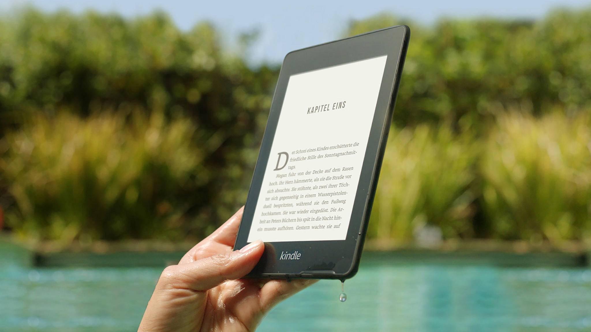 Im Gegensatz zum Kindle Paperwhite (im Bild) sollen zukünftige E-Reader ein farbiges Display erhalten.