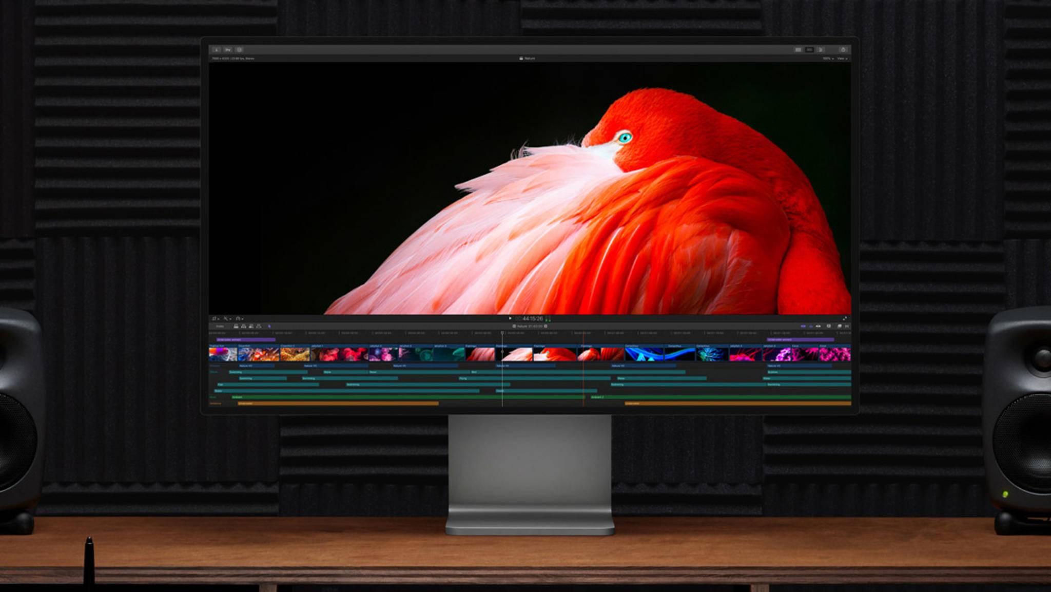 Der neue Mac Pro eignet sich auch für professionelle Musiker.