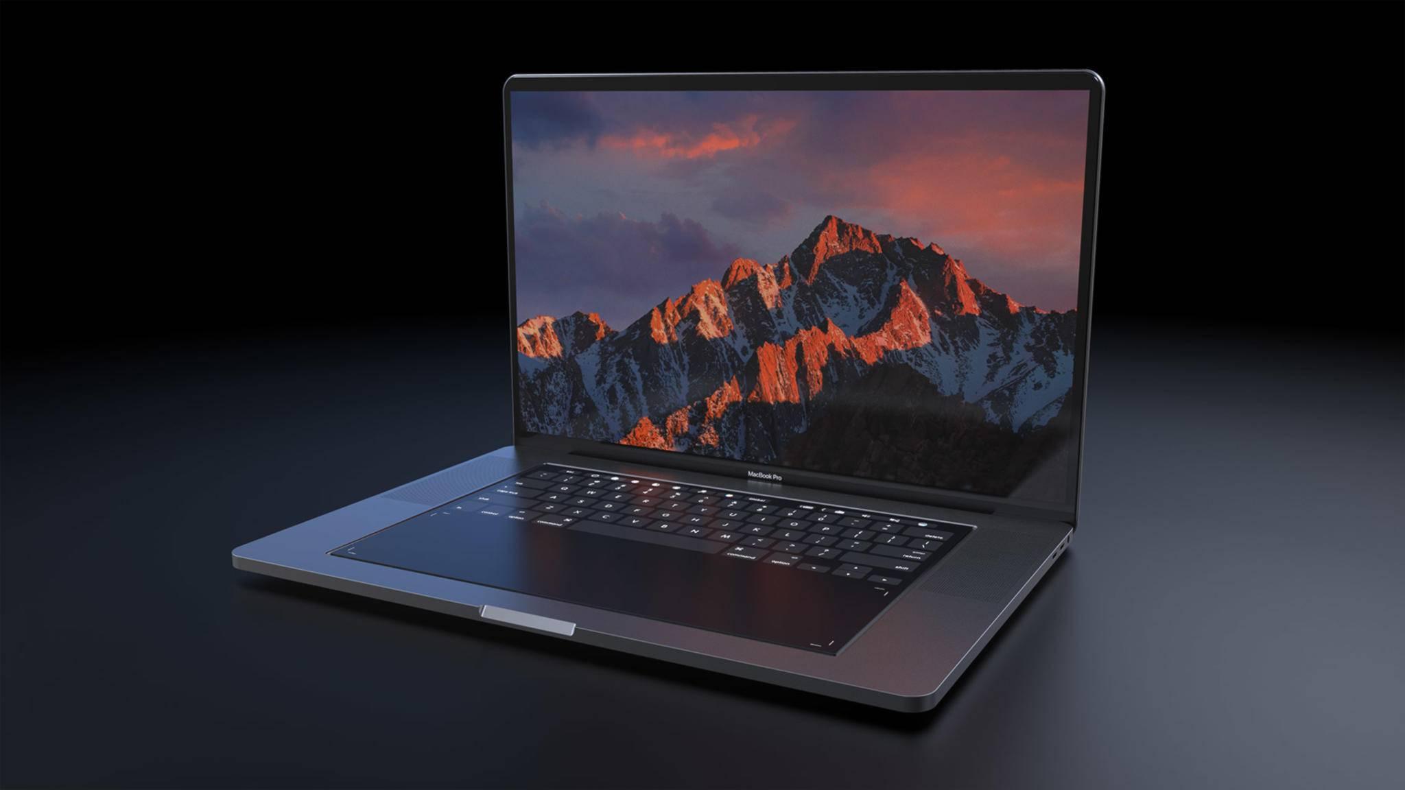 Wann wird es das MacBook Pro mit 16 Zoll endlich zu kaufen geben? (Konzeptbild)