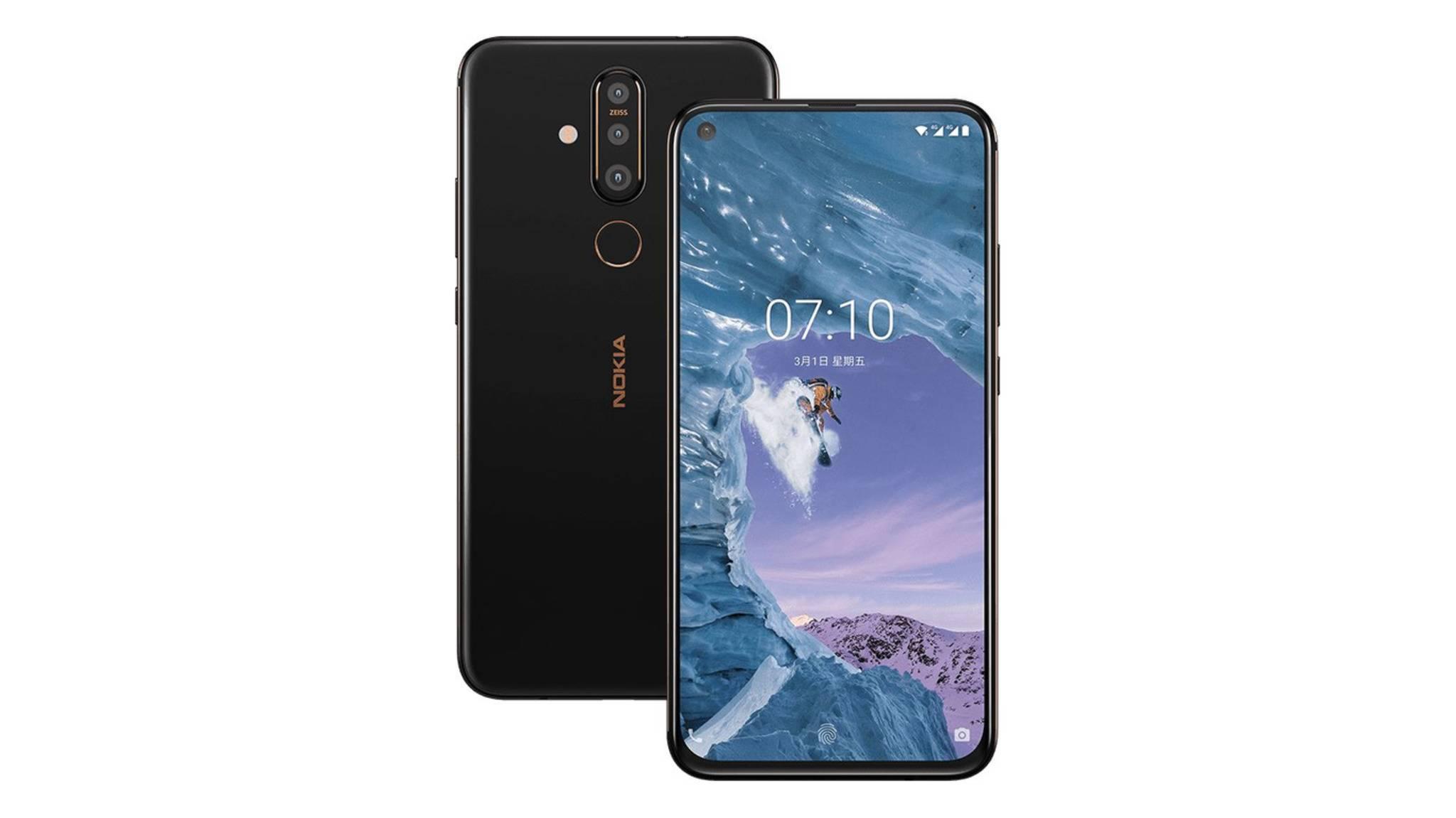 Das Nokia 6.2 baut wohl auf dem Nokia X71 (im Bild) auf.