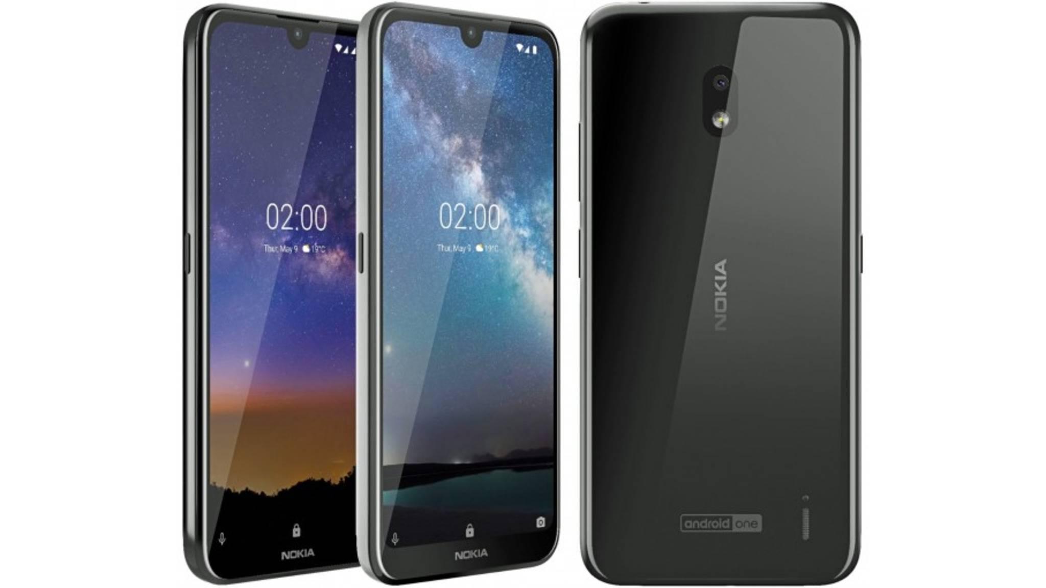 Das Nokia 2.2 kommt wohl mit Glasrückseite und Android One.