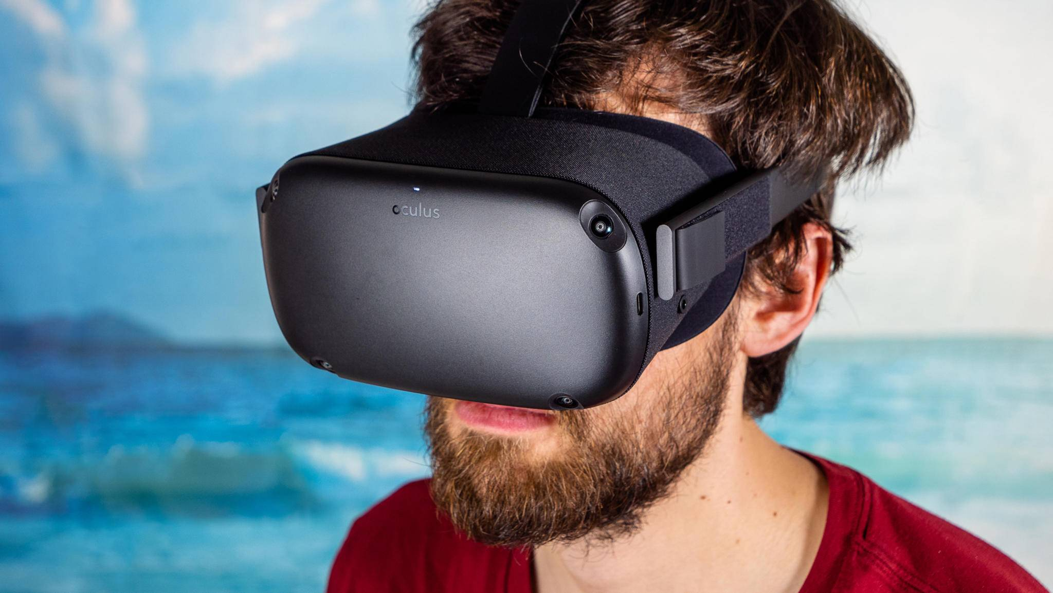 Das Apple-Headset soll wie die Oculus Quest (im Bild) auch VR-Funktionen bieten.