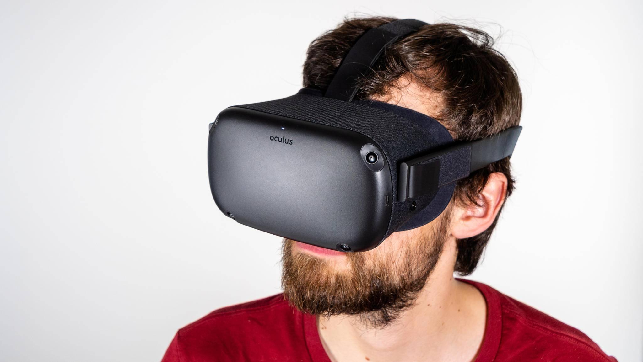 Die Oculus Quest bietet VR-Gaming ohne Kabel.