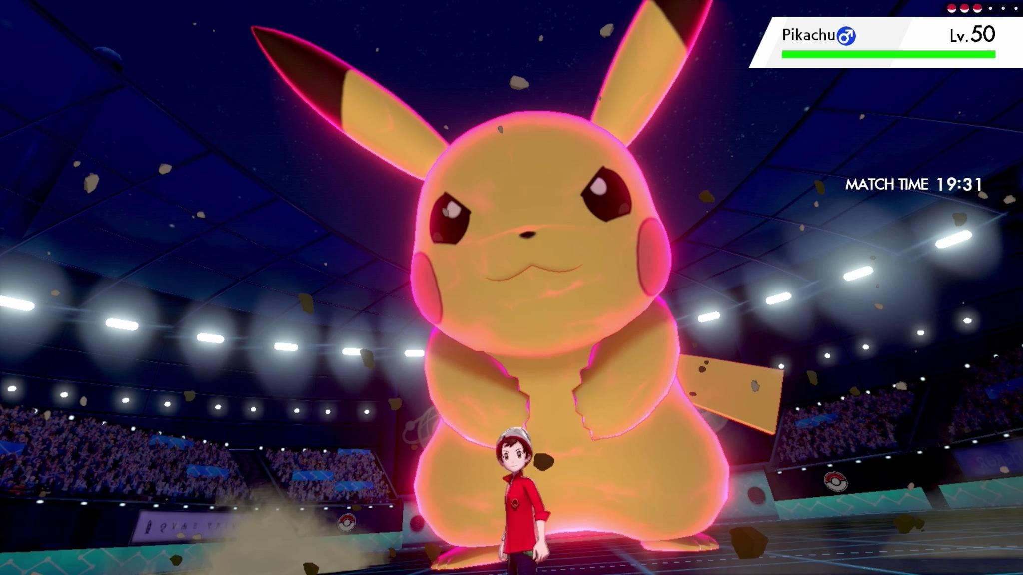 """Die riesigen Dynamax-Pokémon sind eine wichtige Besonderheit in """"Schwert & Schild""""."""