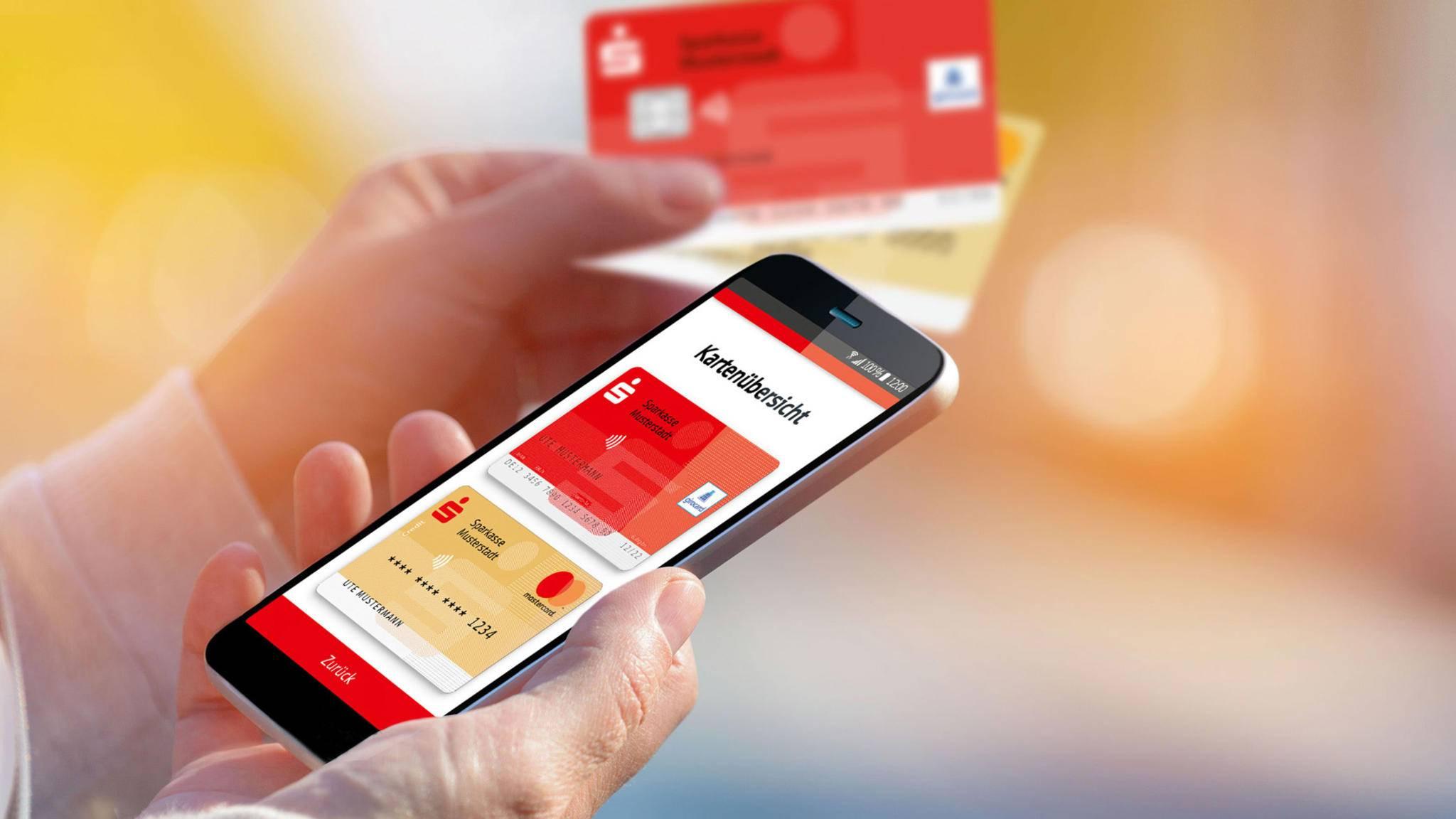 In Zukunft können Zahlungen mit der Sparkassen-App auch per Fingerabdruck getätigt werden.