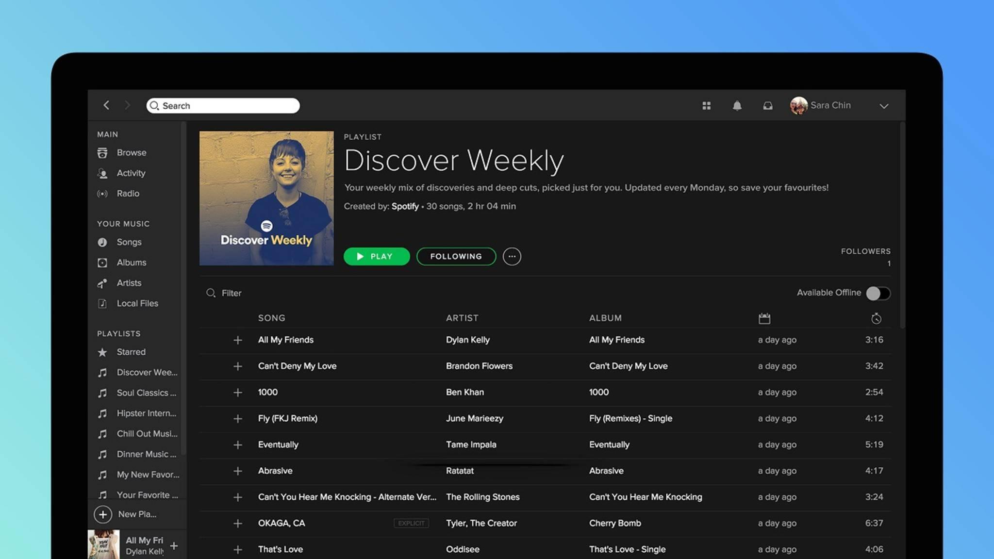 Einen Benutzernamen in Spotify zu ändern ist nicht so leicht, wie man annehmen könnte.