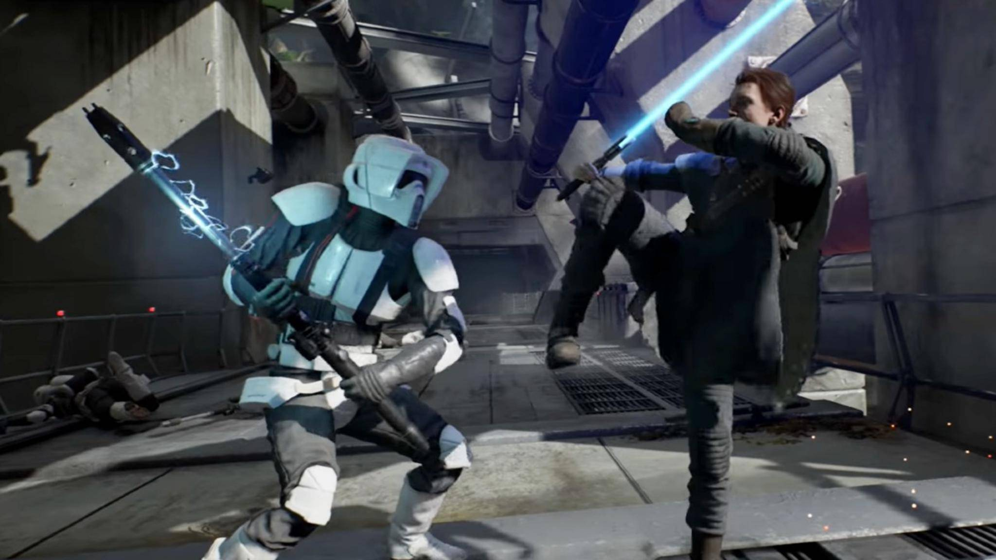 """Mit Blut hält sich """"Star Wars"""" absichtlich zurück."""