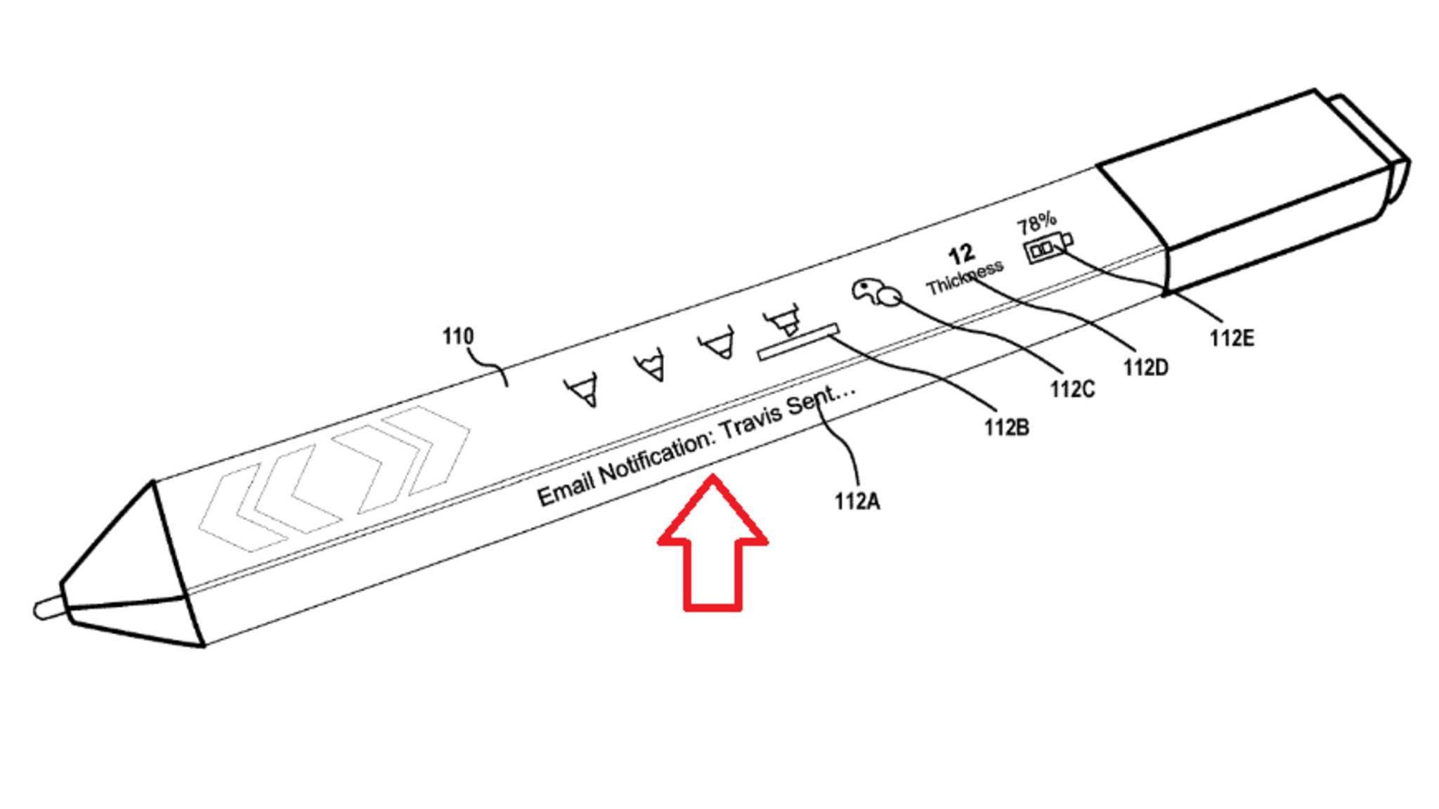 Ein Patentantrag von Microsoft zeigt, welche Funktionen der Surface Pen zukünftig erhalten könnte.