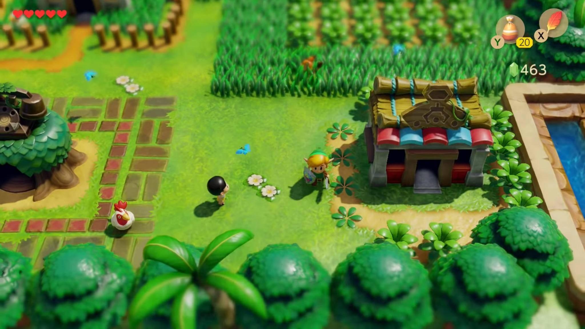 """Das Remake von """"The Legend of Zelda: Link's Awakening"""" gibt es auch mit coolem Retro-Steelbook."""