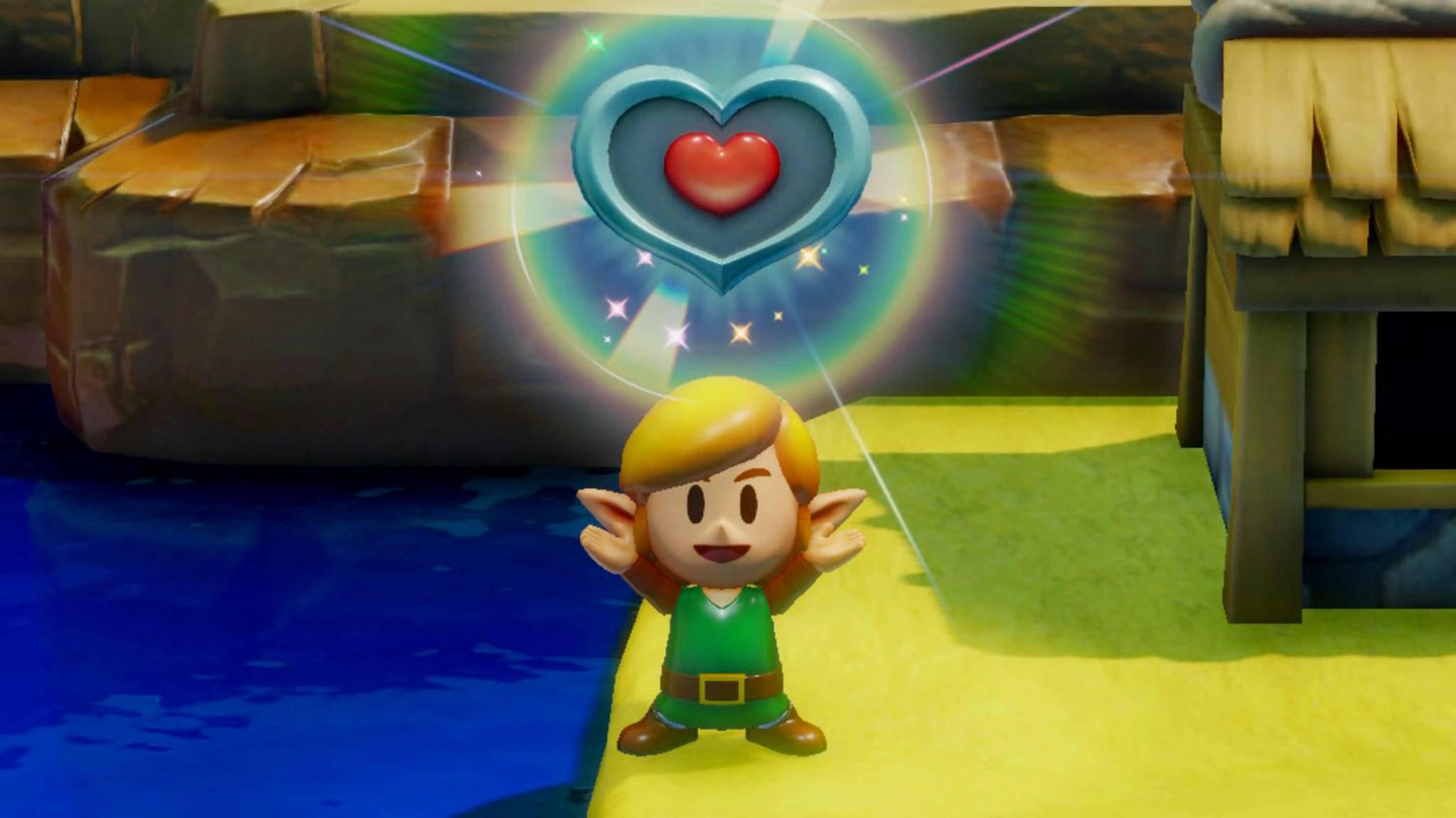 """Ein Herz für süße Remakes: """"The Legend of Zelda: Link's Awakening"""" wird bunt und knuffig."""