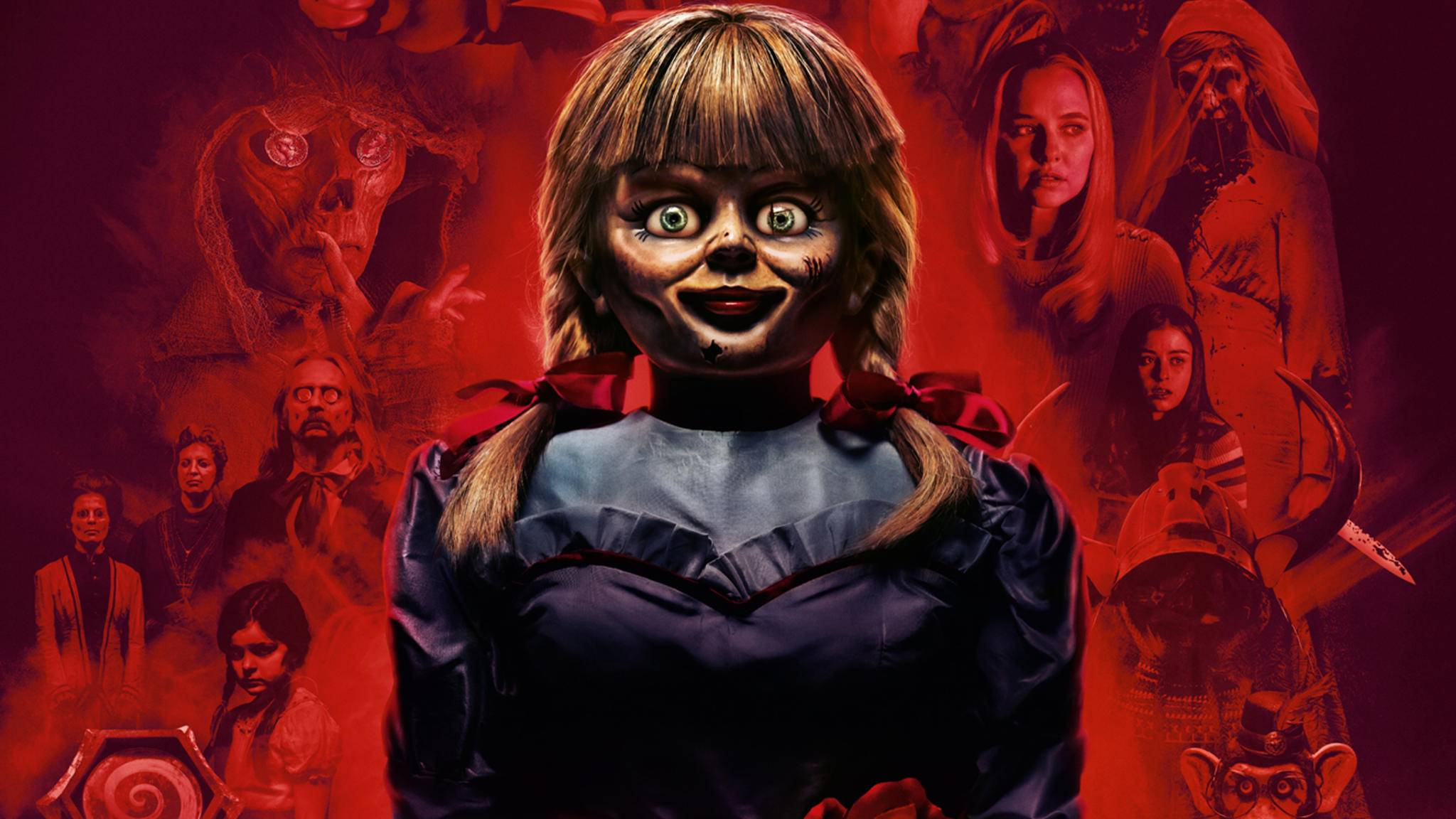 """In """"Annabelle Comes Home"""" bekommen es die Protagonisten nicht nur mit der Horrorpuppe zu tun."""